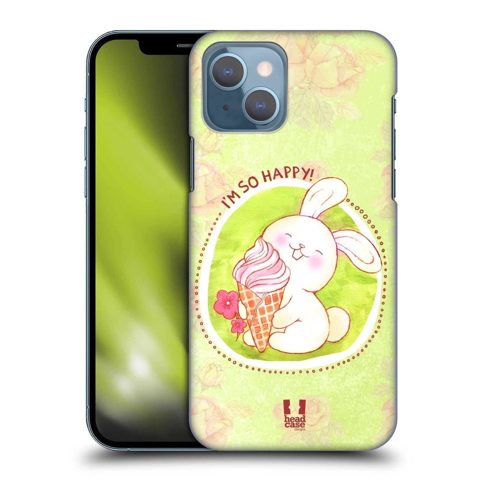 Plastové pouzdro na mobil Apple iPhone 13 - Head Case - KRÁLÍČEK A ZMRZKA