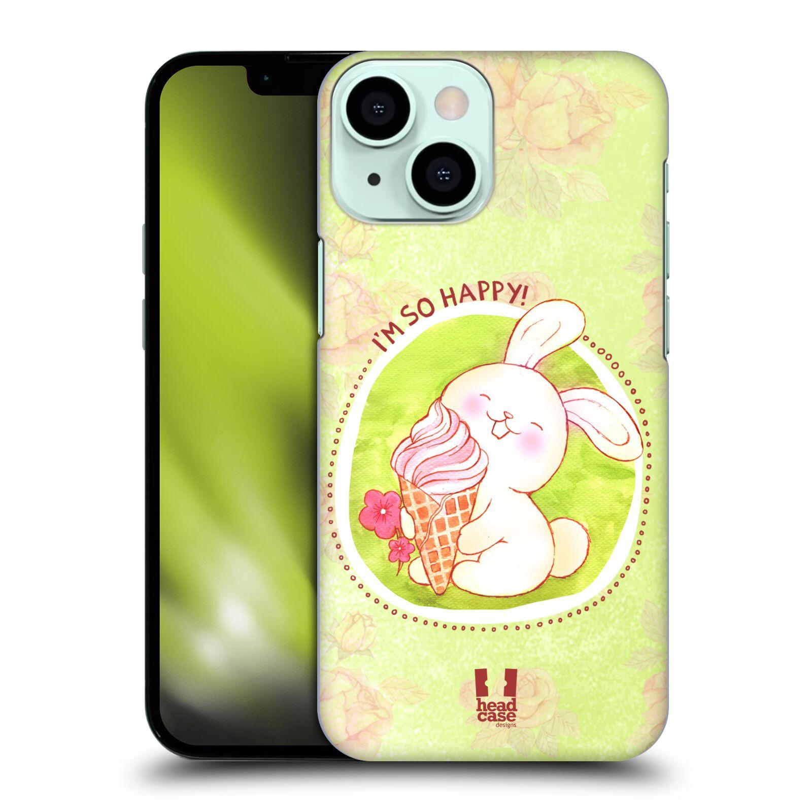 Plastové pouzdro na mobil Apple iPhone 13 Mini - Head Case - KRÁLÍČEK A ZMRZKA