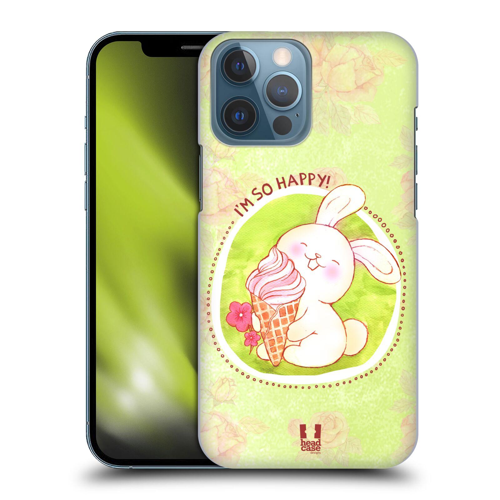Plastové pouzdro na mobil Apple iPhone 13 Pro Max - Head Case - KRÁLÍČEK A ZMRZKA