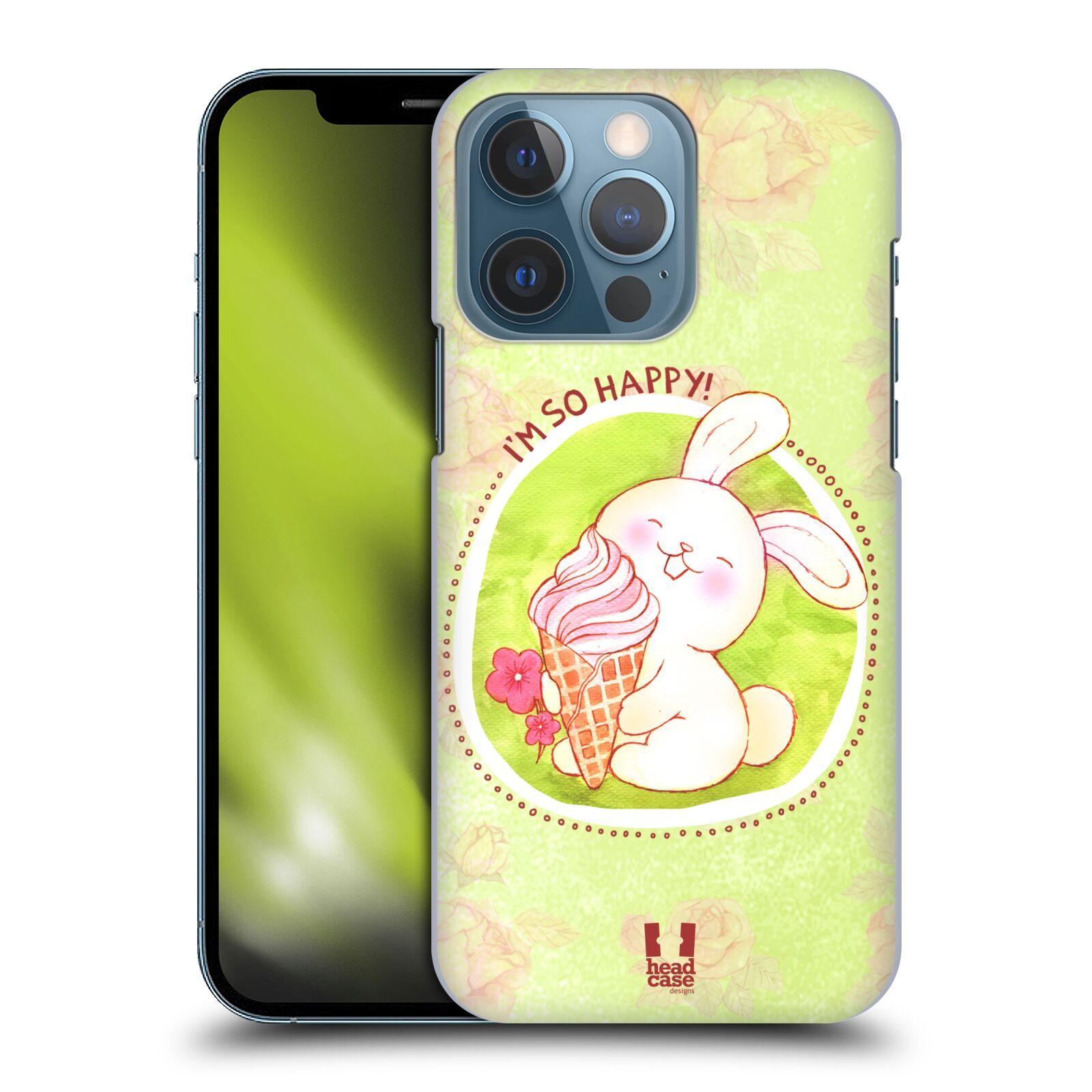 Plastové pouzdro na mobil Apple iPhone 13 Pro - Head Case - KRÁLÍČEK A ZMRZKA