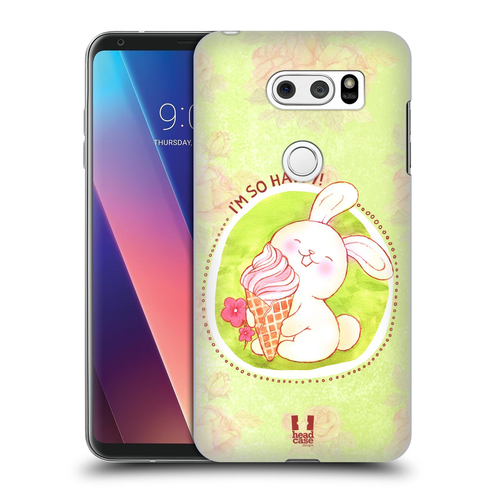 Plastové pouzdro na mobil LG V30 - Head Case - KRÁLÍČEK A ZMRZKA