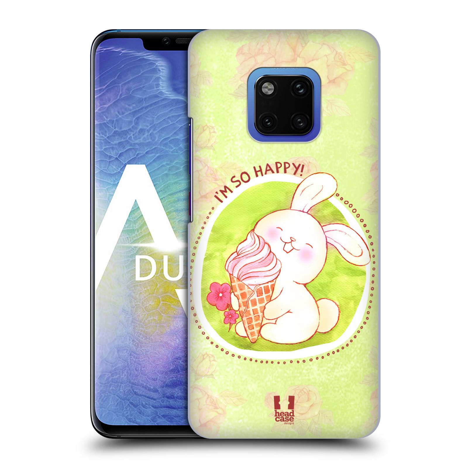 Plastové pouzdro na mobil Huawei Mate 20 Pro - Head Case - KRÁLÍČEK A ZMRZKA