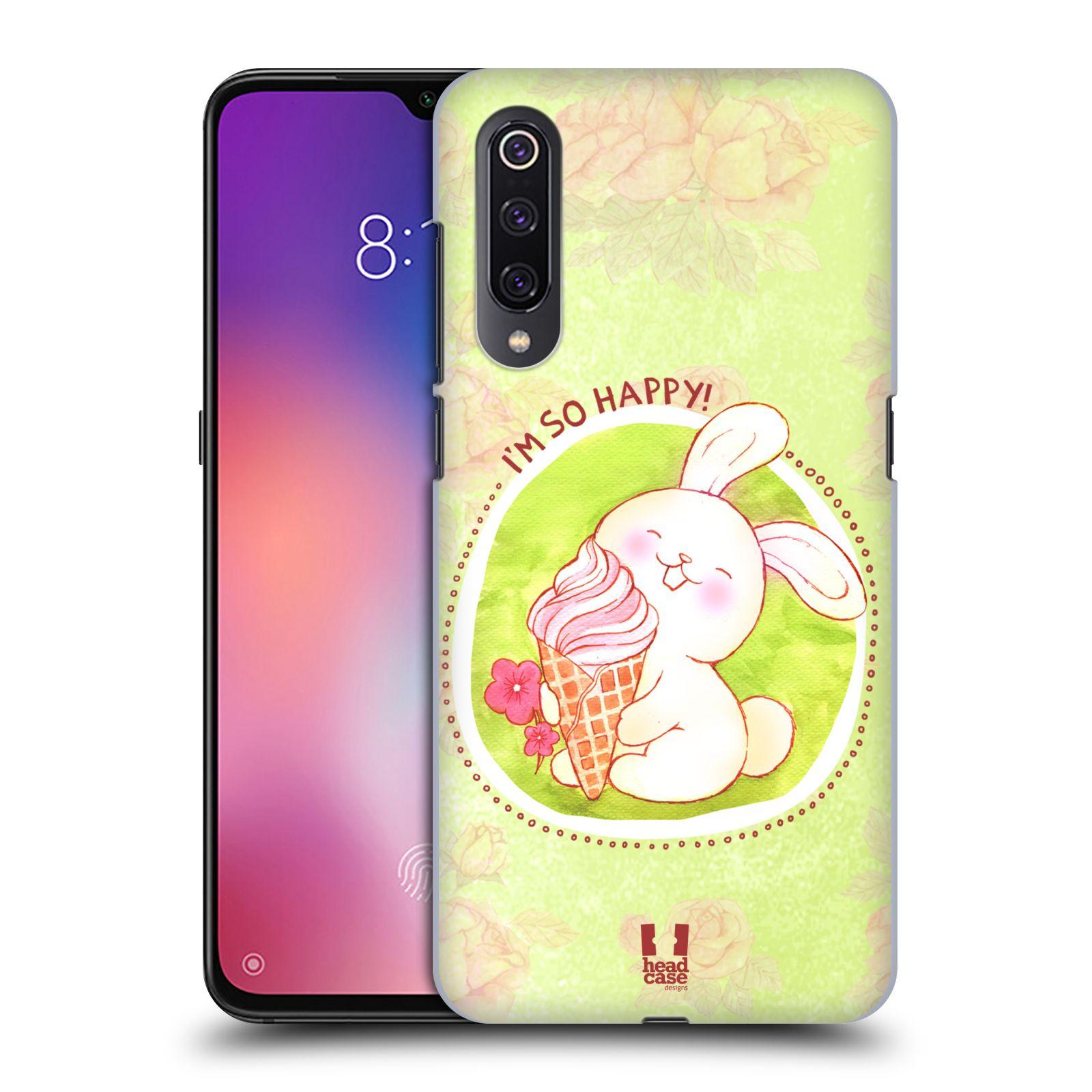 Plastové pouzdro na mobil Xiaomi Mi 9 - Head Case - KRÁLÍČEK A ZMRZKA