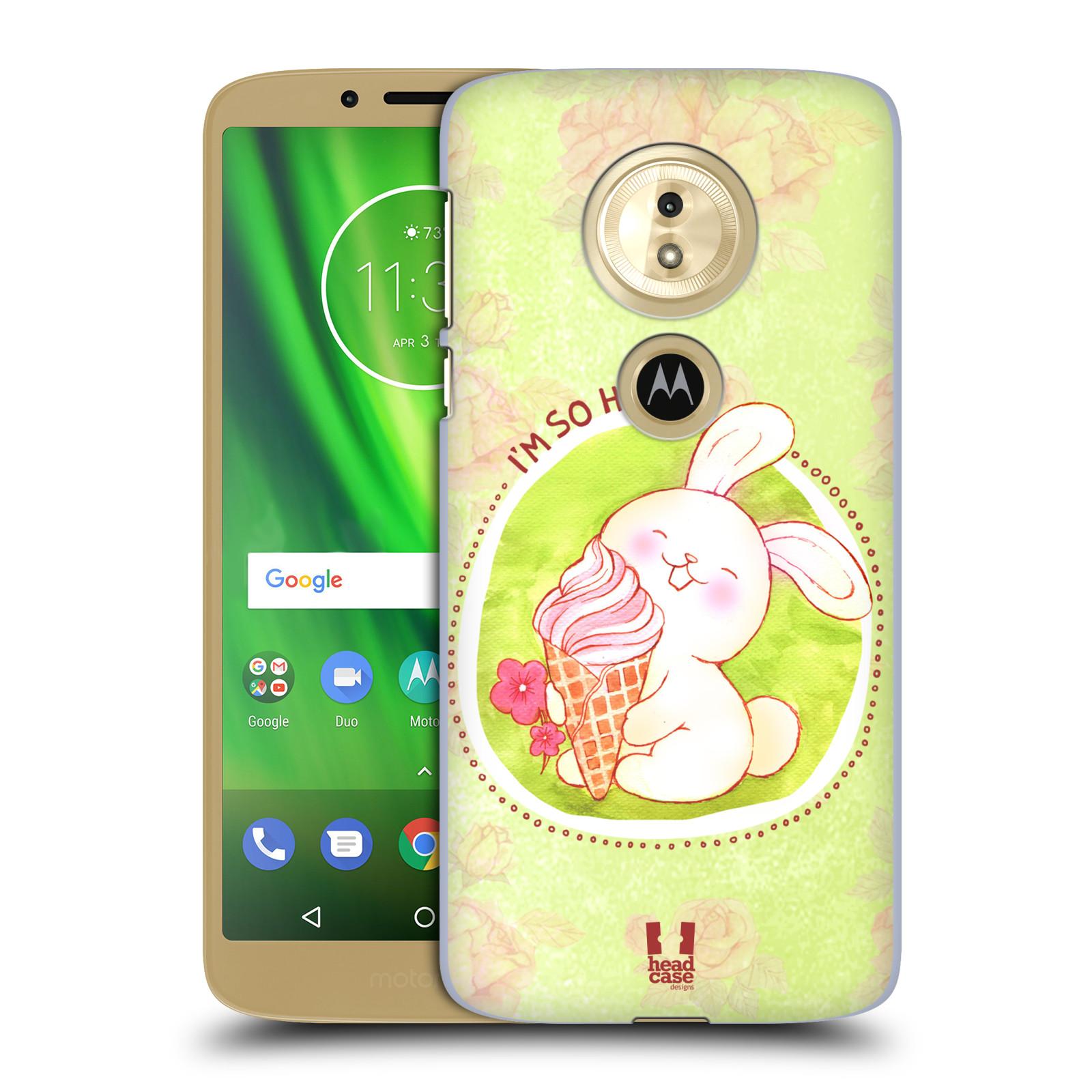 Plastové pouzdro na mobil Motorola Moto G6 Play - Head Case - KRÁLÍČEK A ZMRZKA