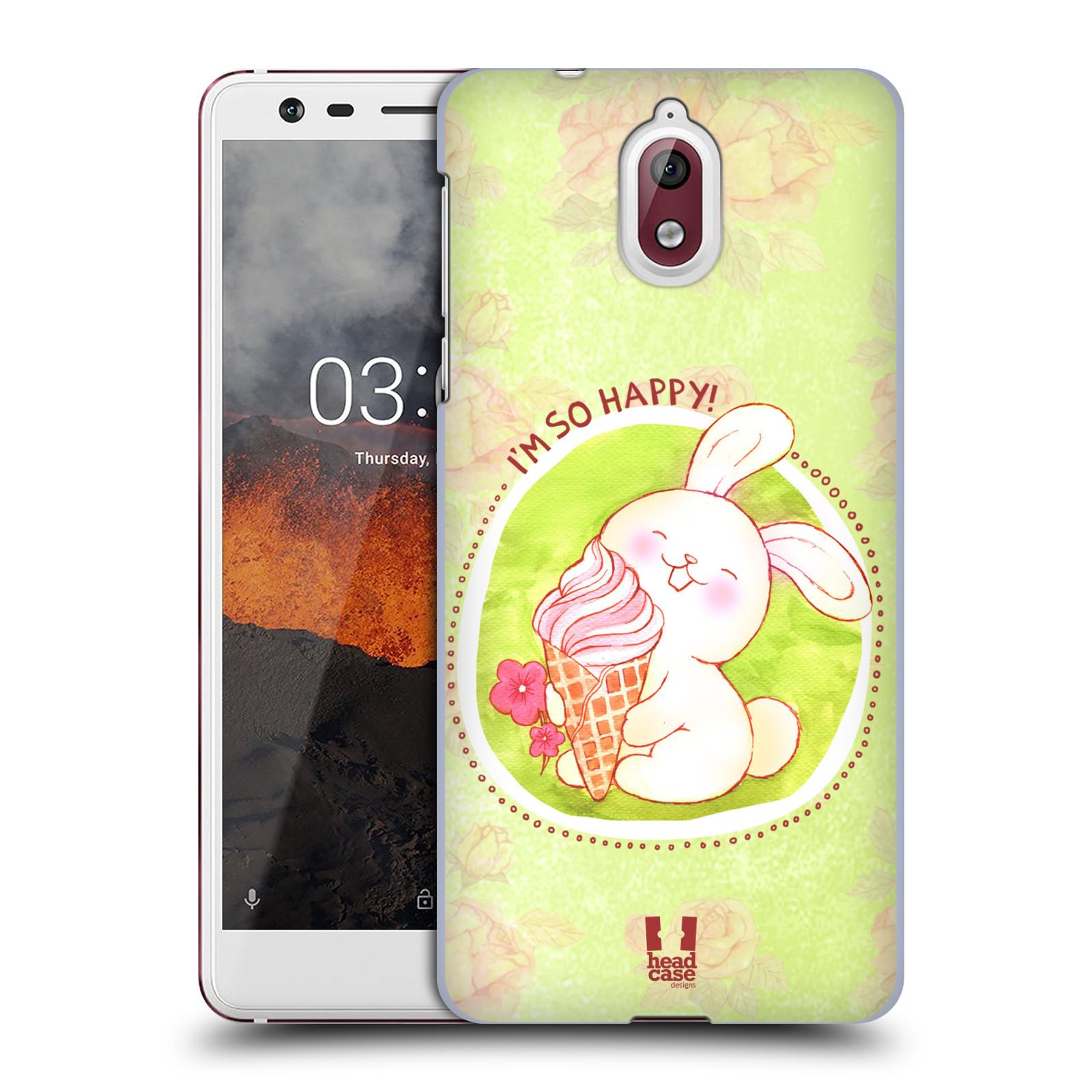 Plastové pouzdro na mobil Nokia 3.1 - Head Case - KRÁLÍČEK A ZMRZKA