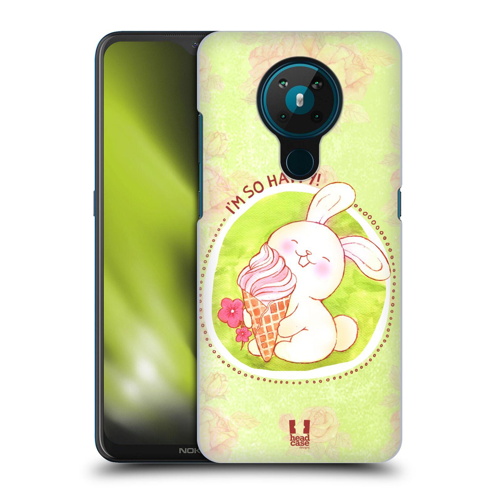 Plastové pouzdro na mobil Nokia 5.3 - Head Case - KRÁLÍČEK A ZMRZKA