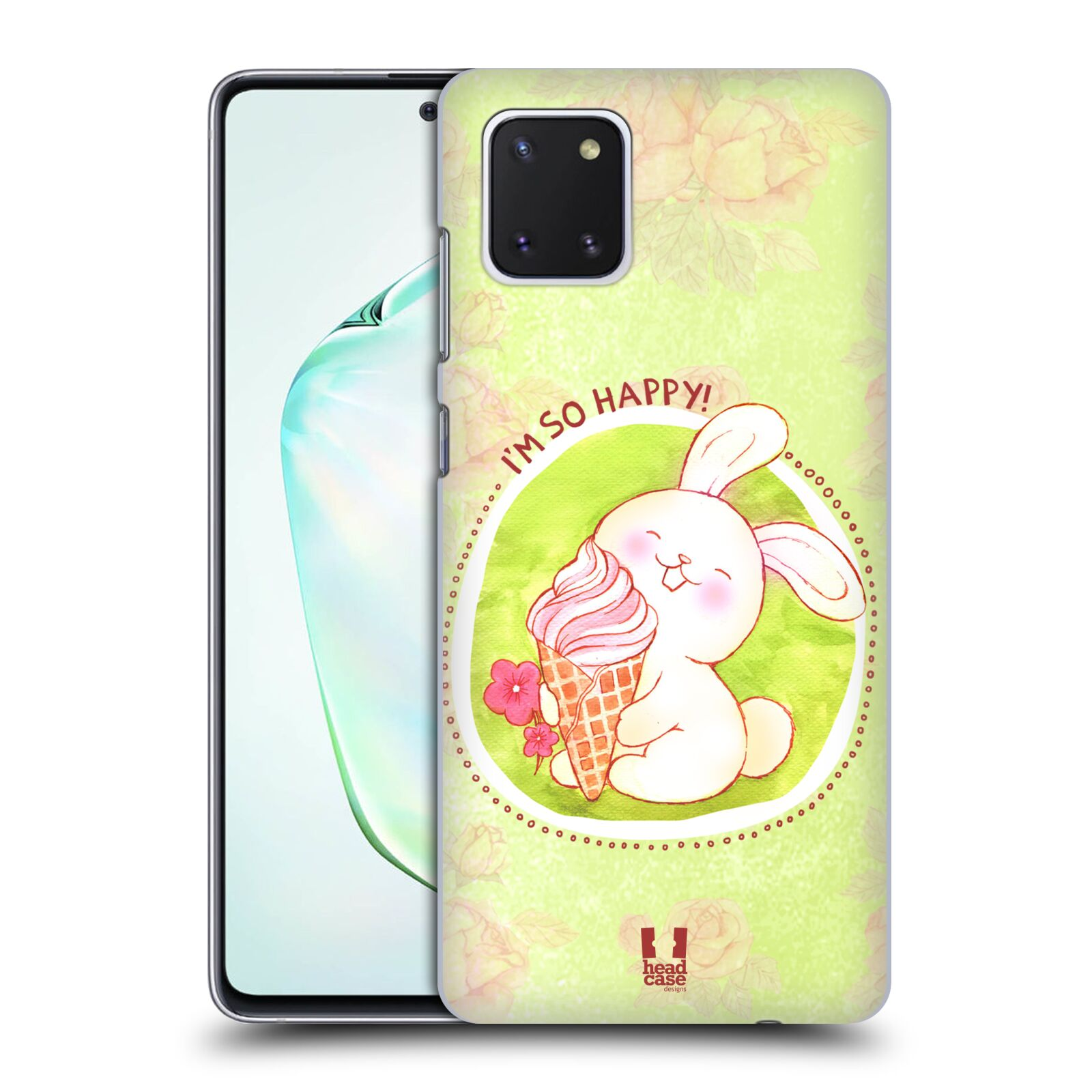 Plastové pouzdro na mobil Samsung Galaxy Note 10 Lite - Head Case - KRÁLÍČEK A ZMRZKA