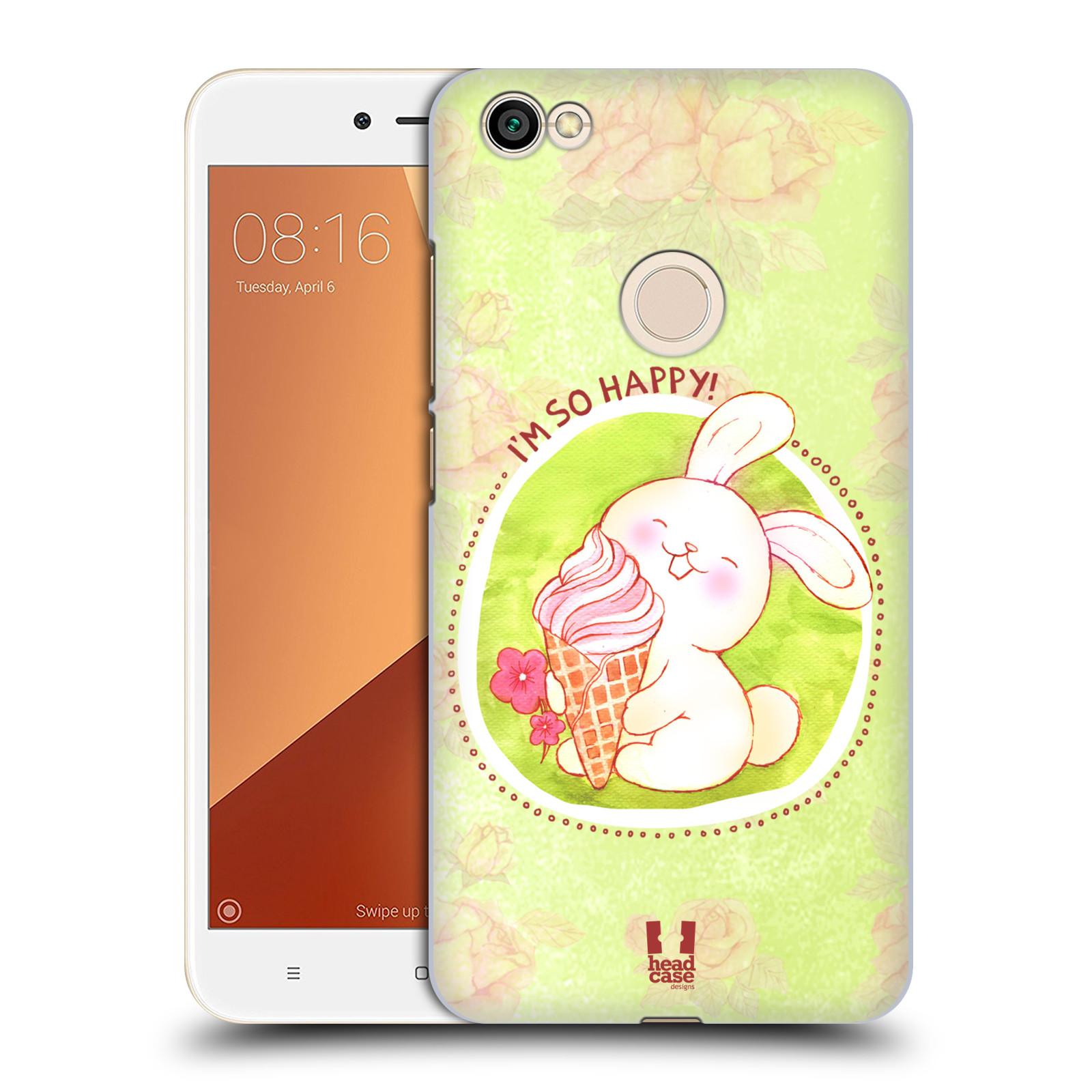 Plastové pouzdro na mobil Xiaomi Redmi Note 5A Prime - Head Case - KRÁLÍČEK A ZMRZKA