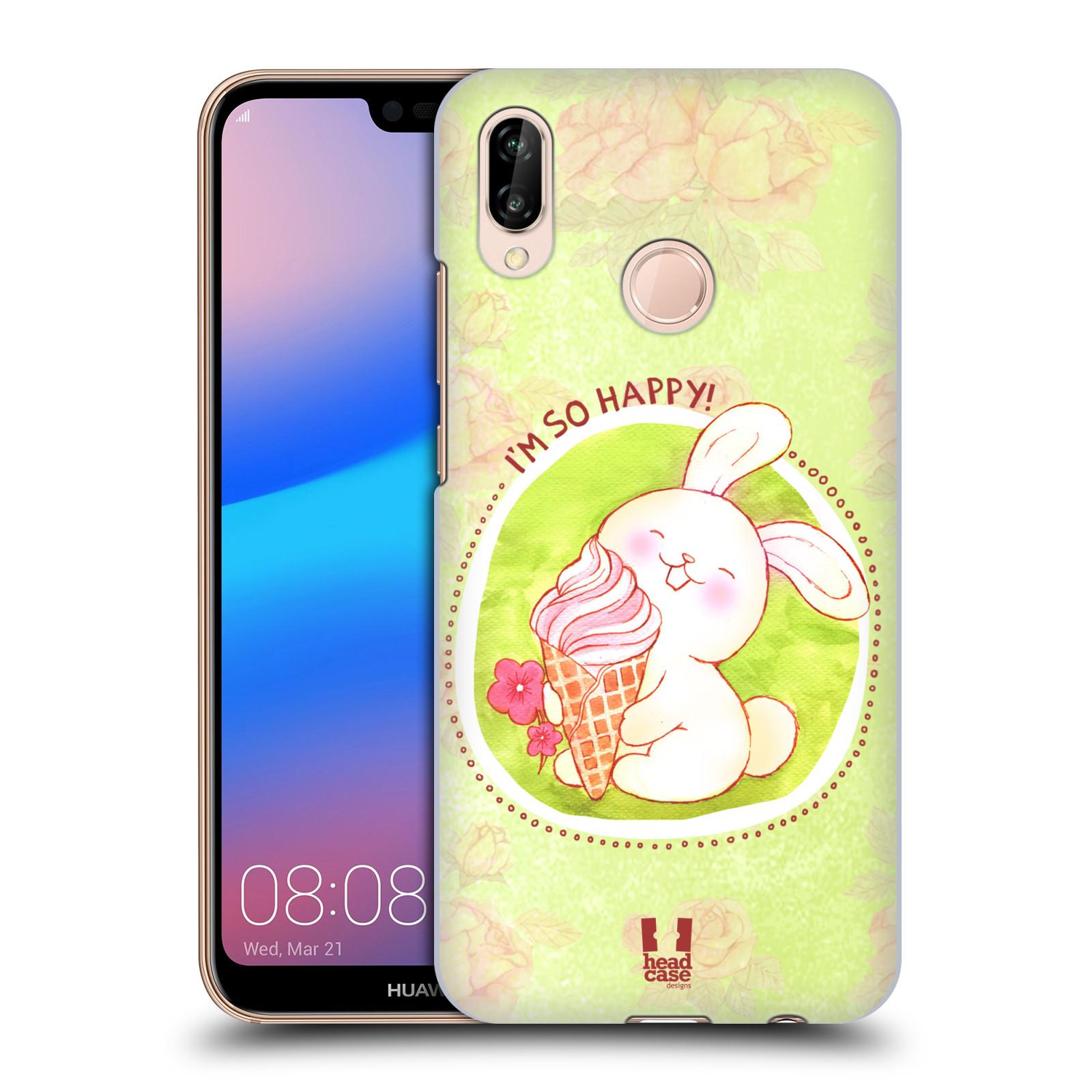 Plastové pouzdro na mobil Huawei P20 Lite - Head Case - KRÁLÍČEK A ZMRZKA