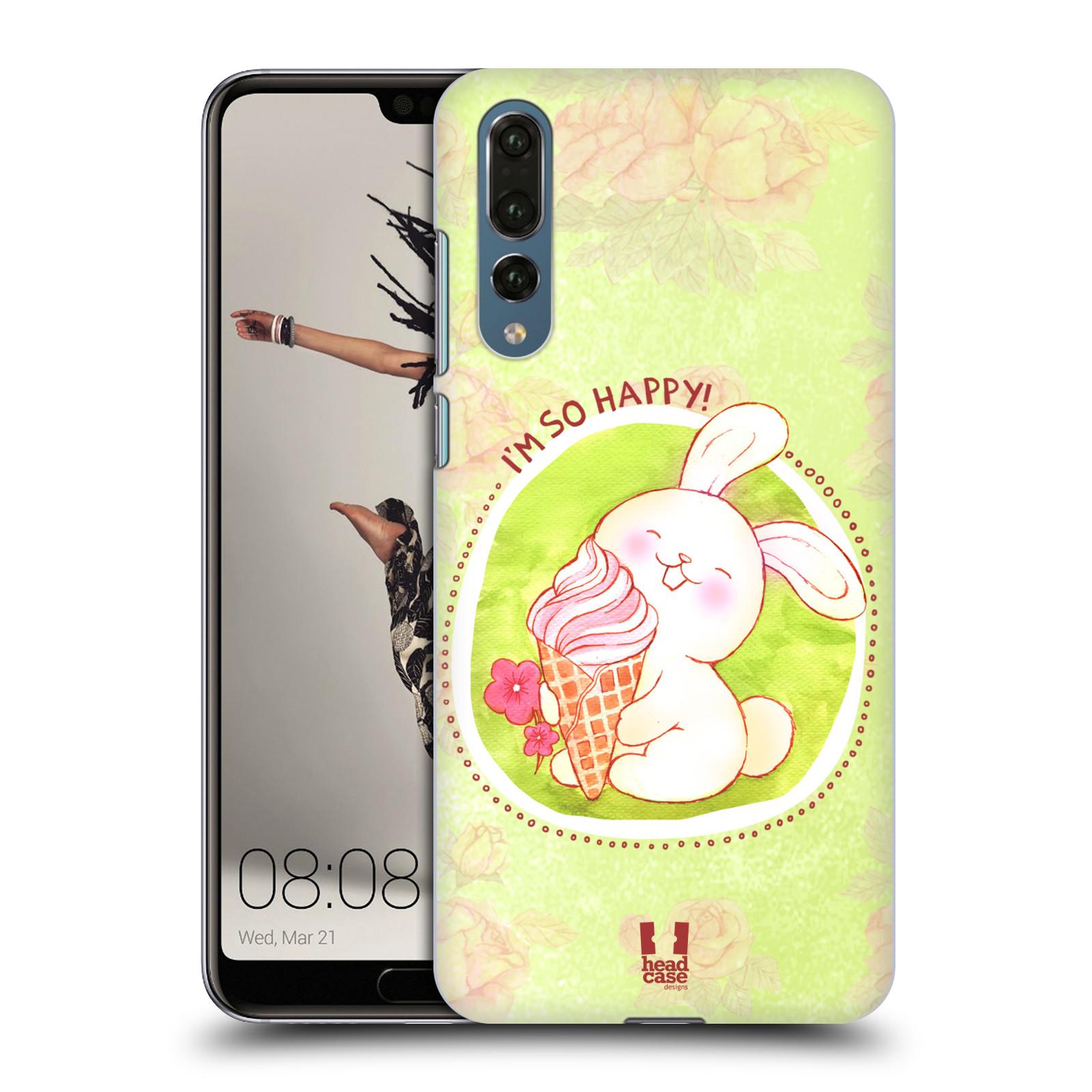 Plastové pouzdro na mobil Huawei P20 Pro - Head Case - KRÁLÍČEK A ZMRZKA