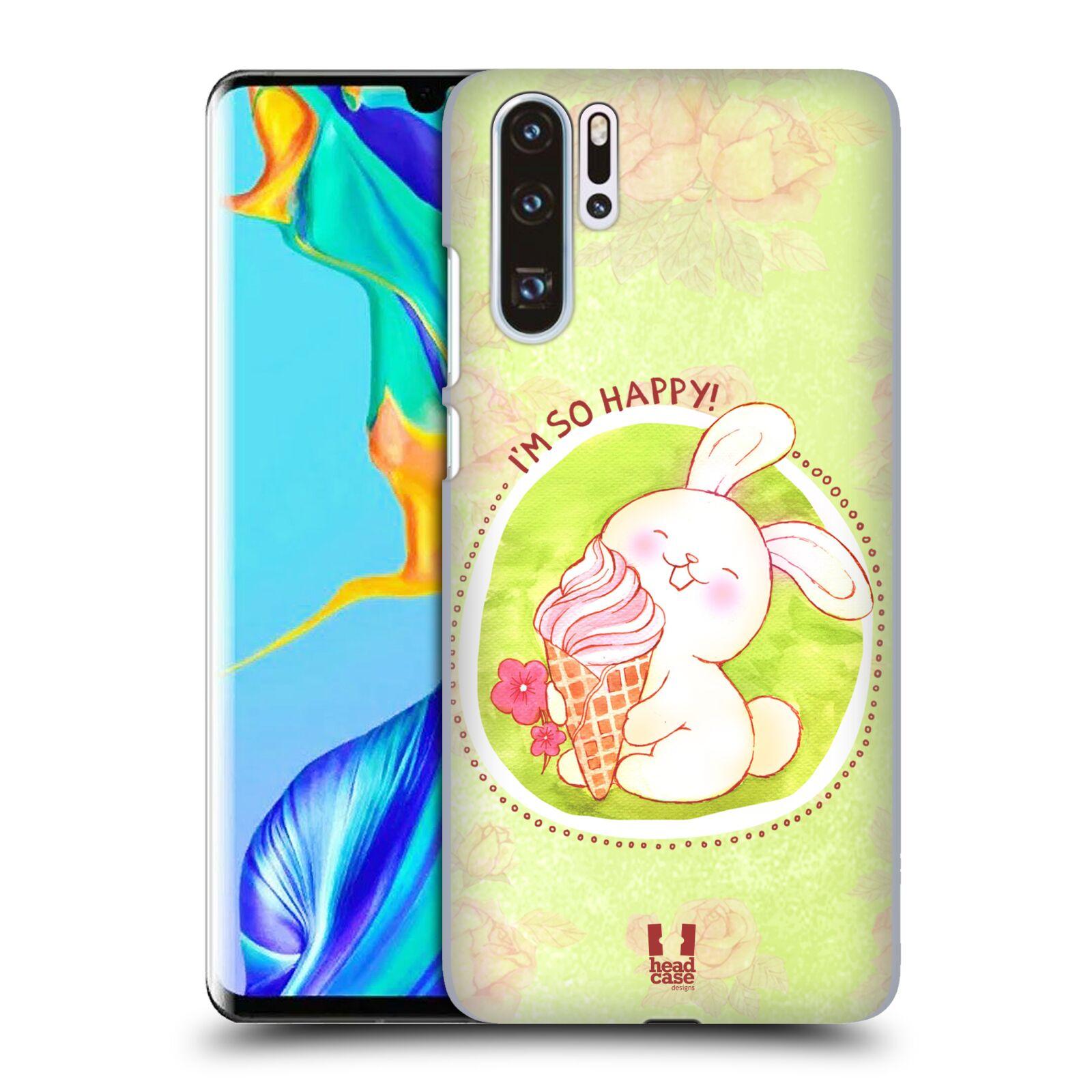 Plastové pouzdro na mobil Huawei P30 Pro - Head Case - KRÁLÍČEK A ZMRZKA