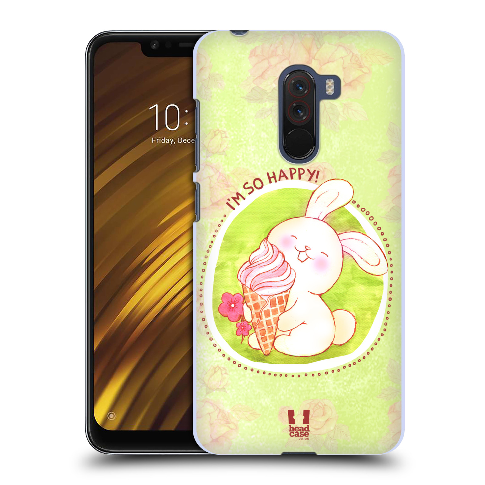 Plastové pouzdro na mobil Xiaomi Pocophone F1 - Head Case - KRÁLÍČEK A ZMRZKA