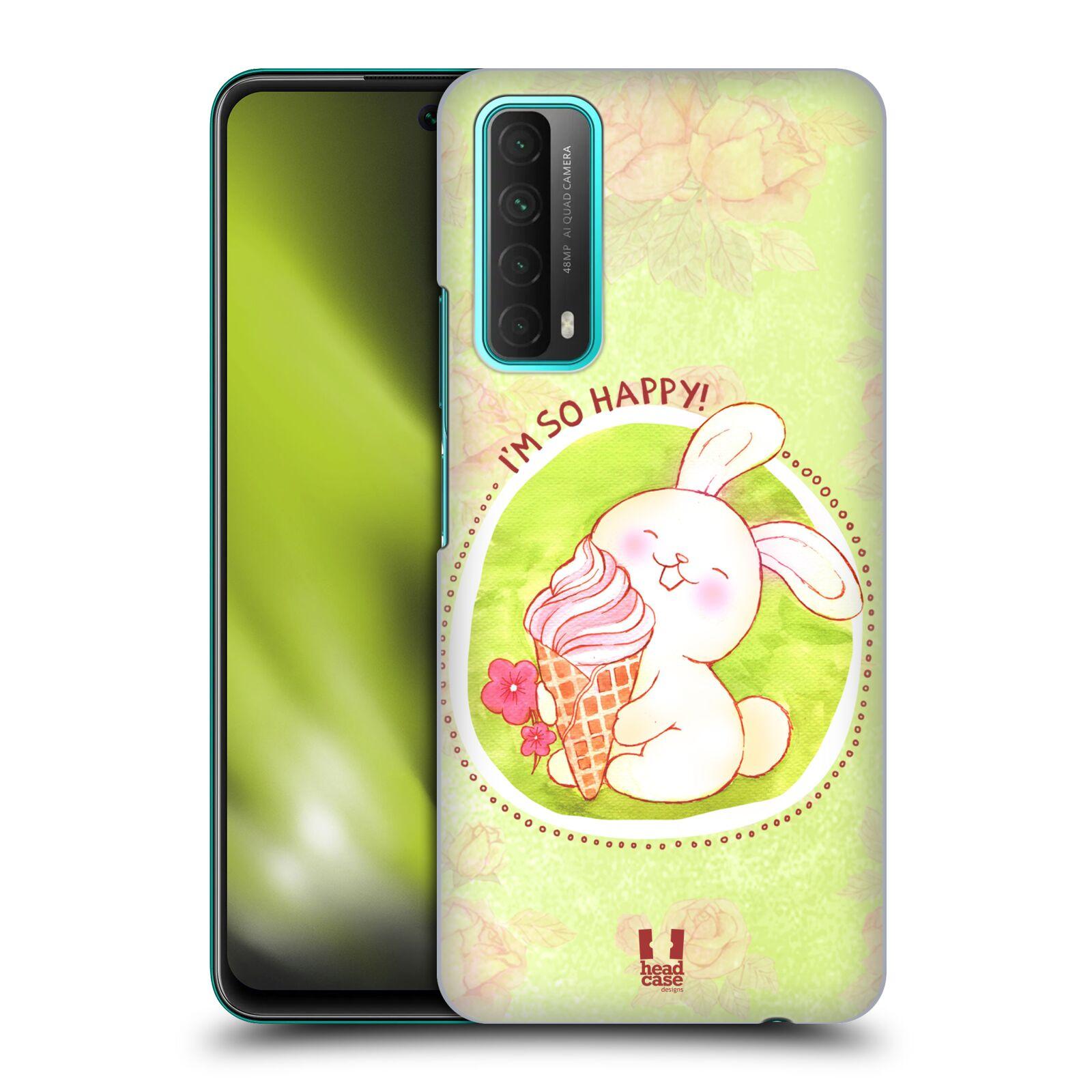 Plastové pouzdro na mobil Huawei P Smart (2021) - Head Case - KRÁLÍČEK A ZMRZKA