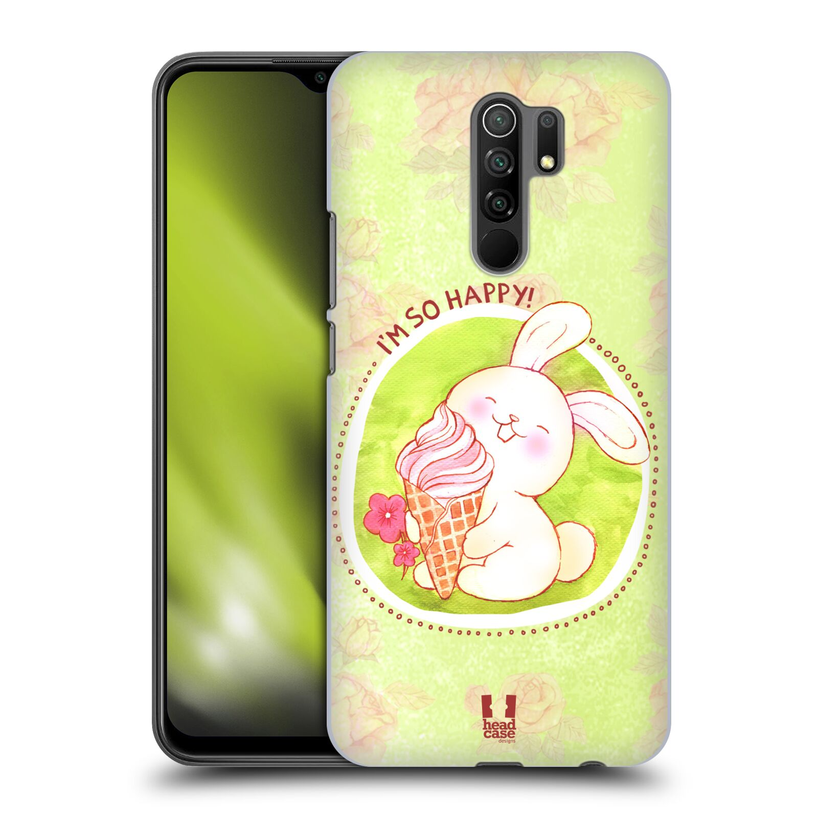 Plastové pouzdro na mobil Xiaomi Redmi 9 - Head Case - KRÁLÍČEK A ZMRZKA