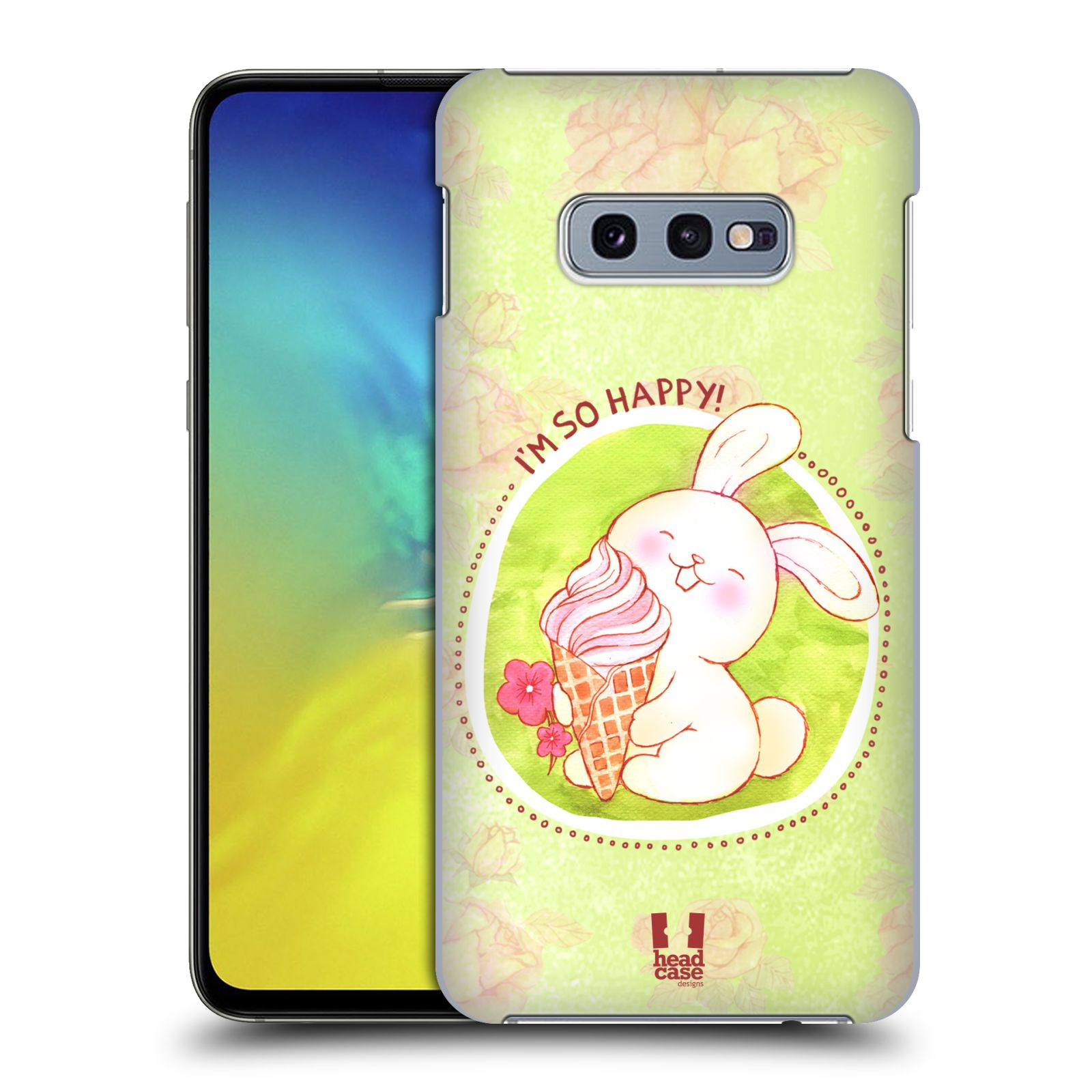 Plastové pouzdro na mobil Samsung Galaxy S10e - Head Case - KRÁLÍČEK A ZMRZKA