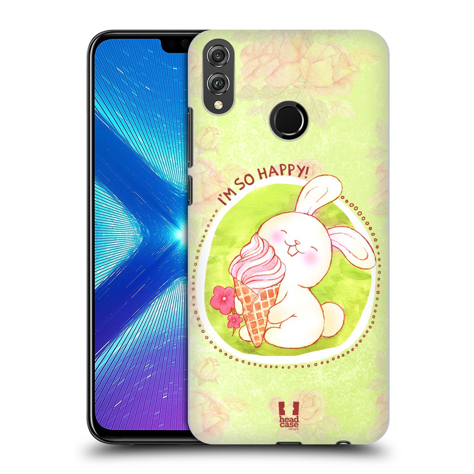 Plastové pouzdro na mobil Honor 8X - Head Case - KRÁLÍČEK A ZMRZKA
