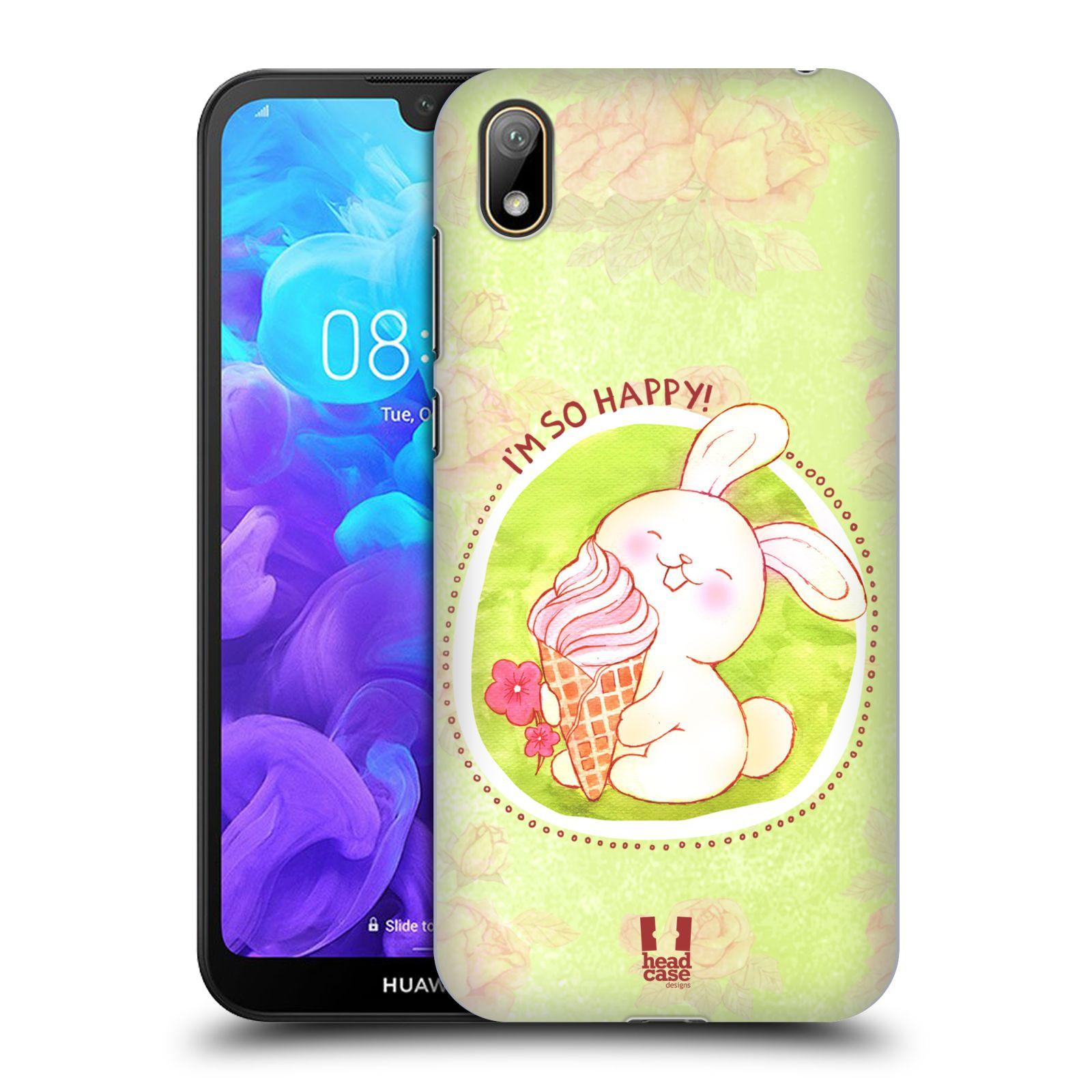 Plastové pouzdro na mobil Honor 8S - Head Case - KRÁLÍČEK A ZMRZKA