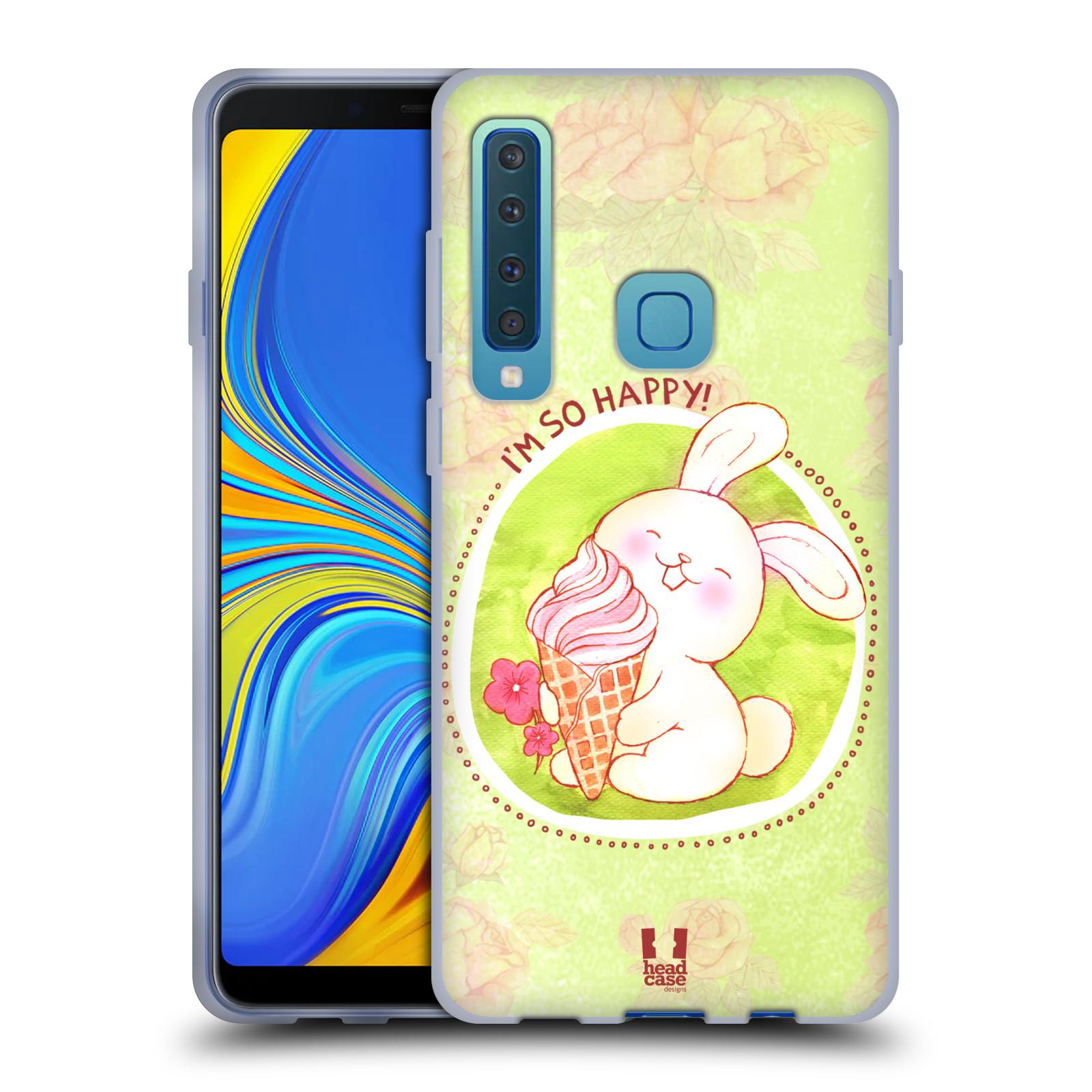 Silikonové pouzdro na mobil Samsung Galaxy A9 (2018) - Head Case - KRÁLÍČEK A ZMRZKA