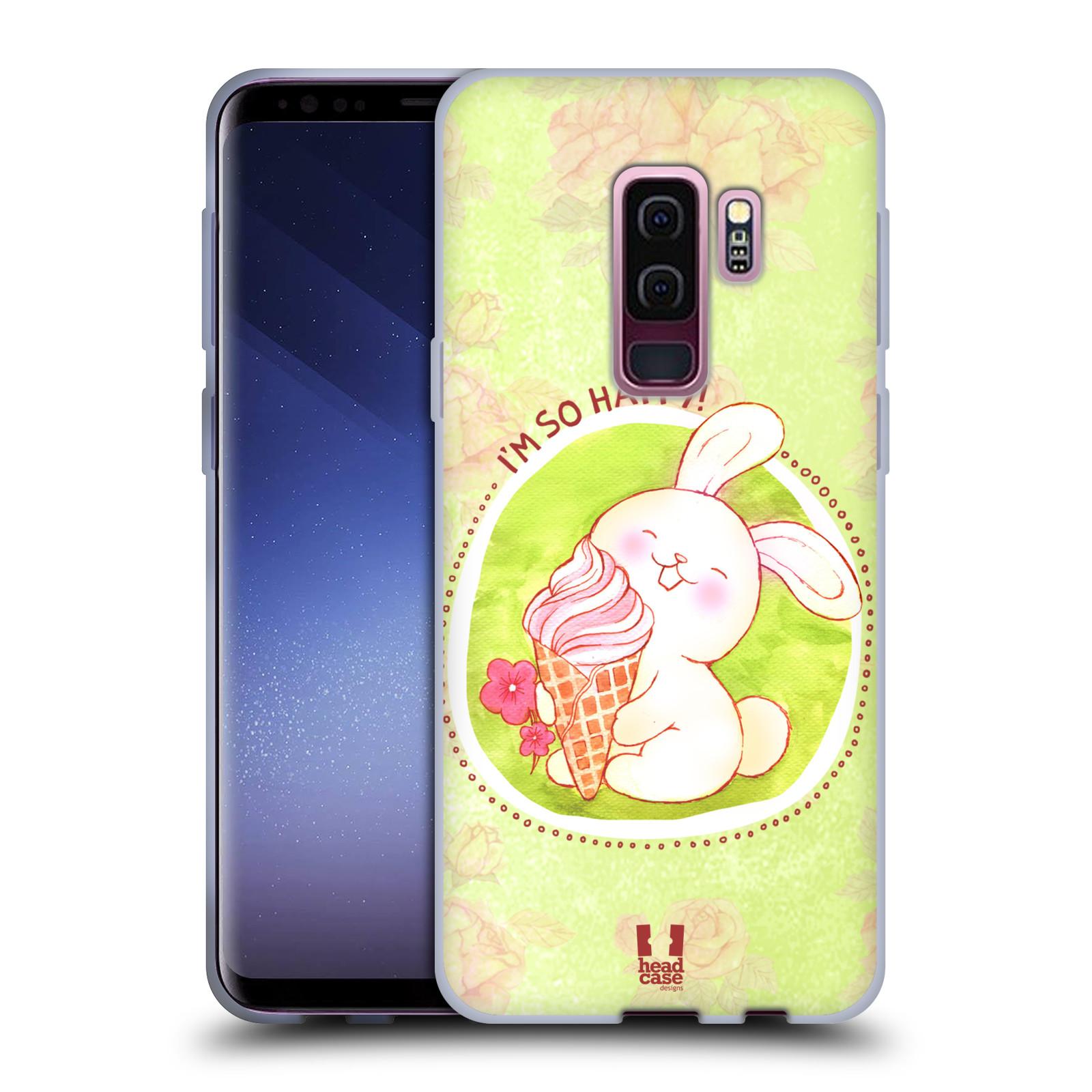 Silikonové pouzdro na mobil Samsung Galaxy S9 Plus - Head Case - KRÁLÍČEK A ZMRZKA
