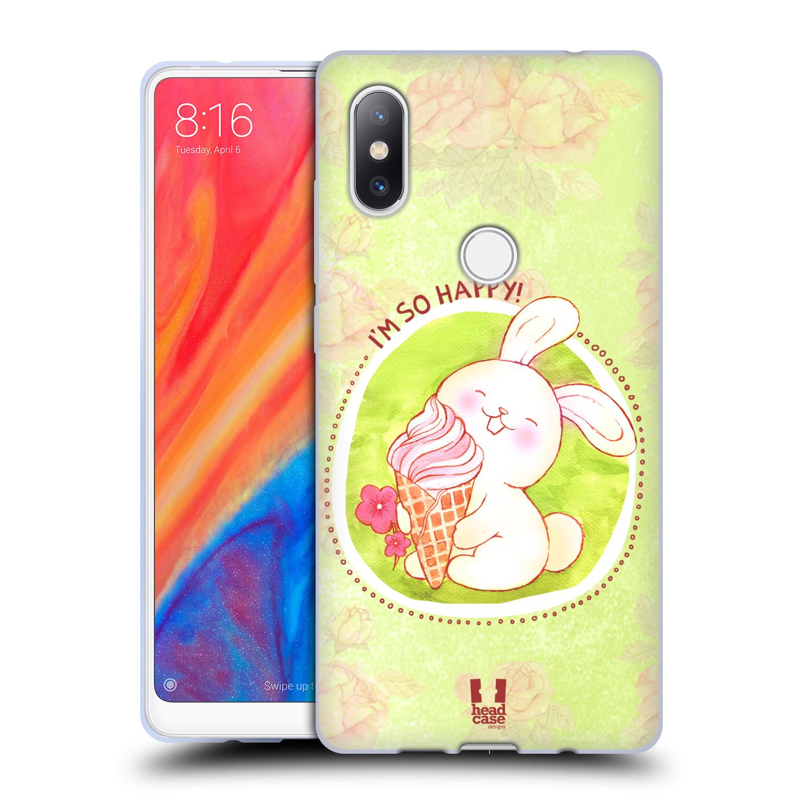 Silikonové pouzdro na mobil Xiaomi Mi Mix 2S - Head Case - KRÁLÍČEK A ZMRZKA