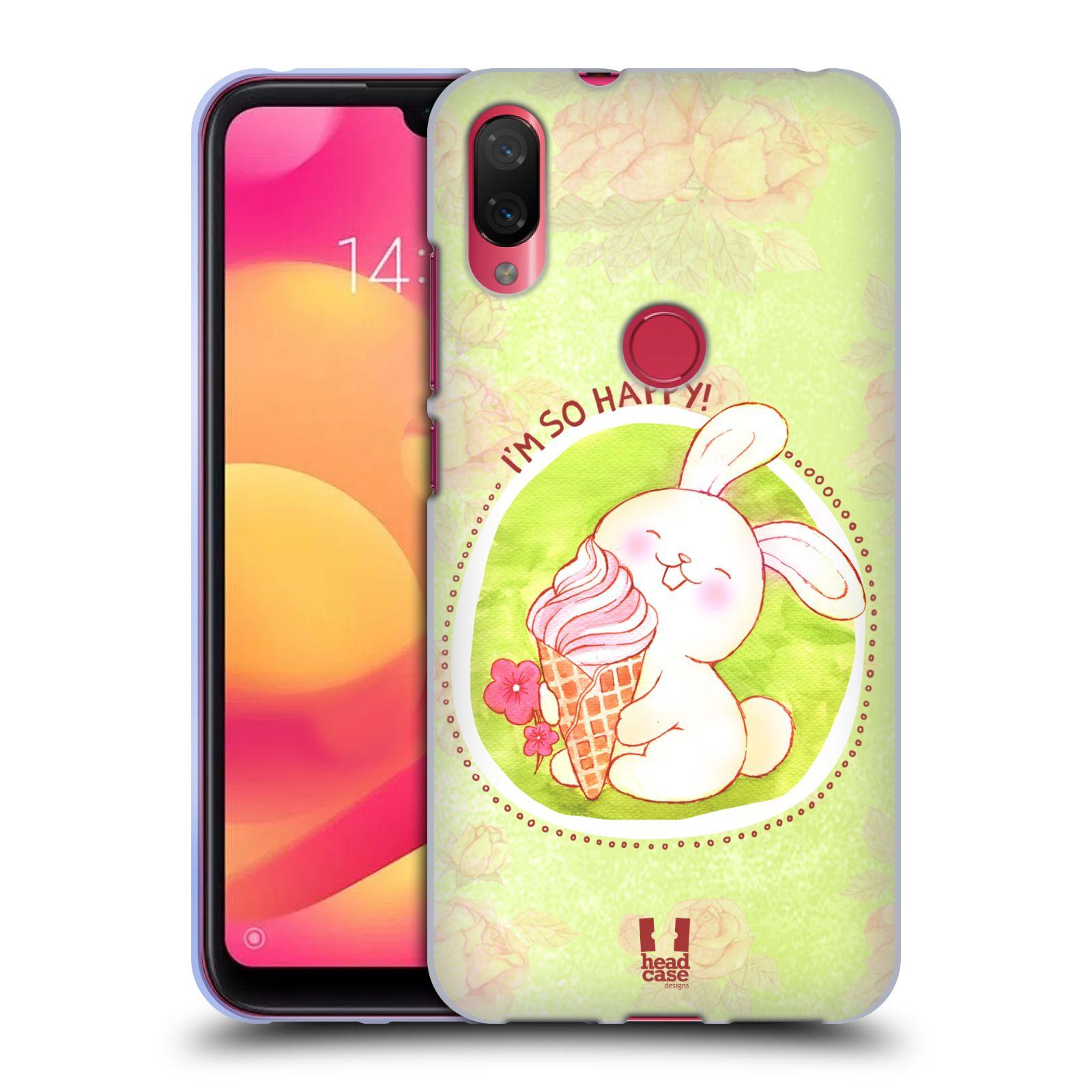 Silikonové pouzdro na mobil Xiaomi Mi Play - Head Case - KRÁLÍČEK A ZMRZKA