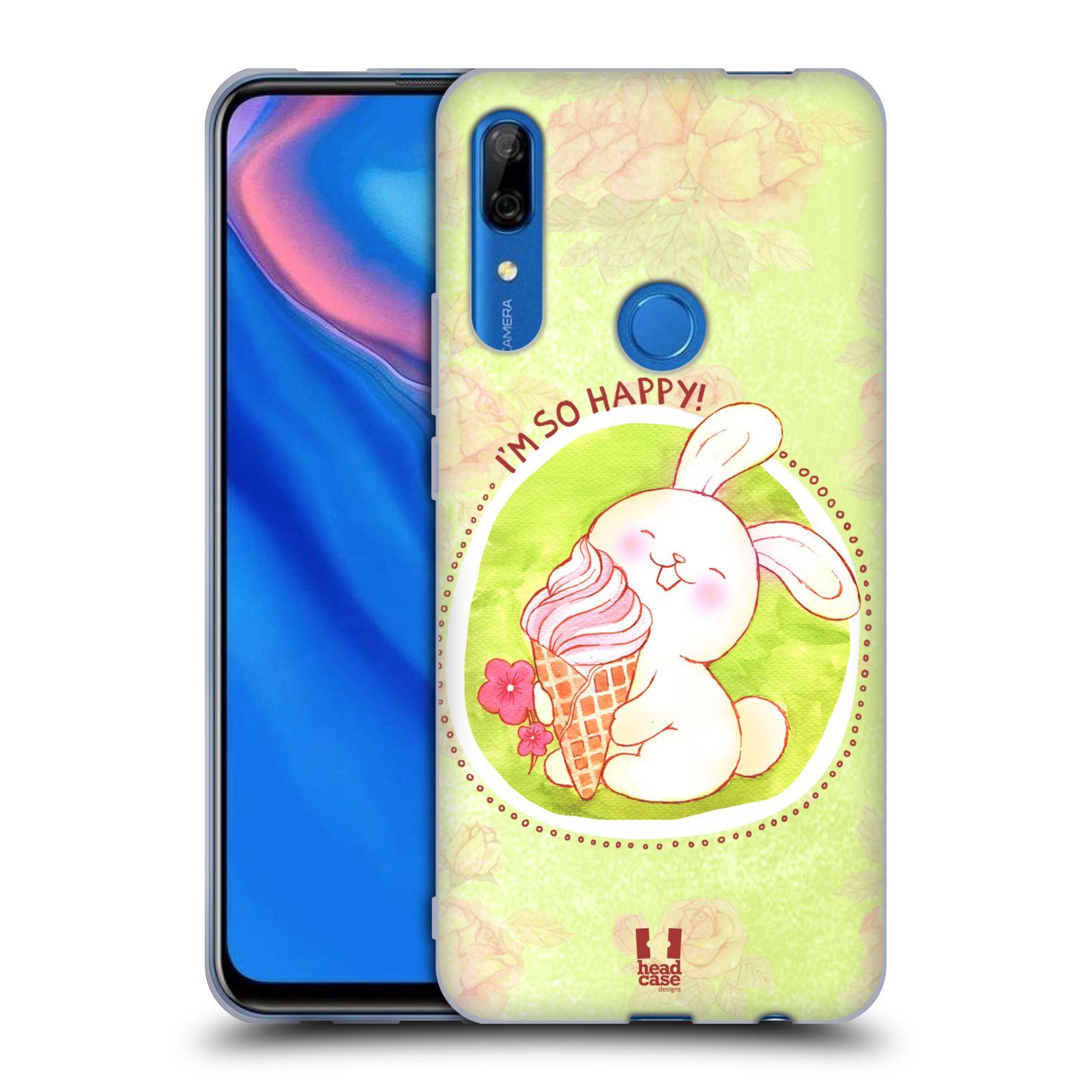 Silikonové pouzdro na mobil Huawei P Smart Z - Head Case - KRÁLÍČEK A ZMRZKA