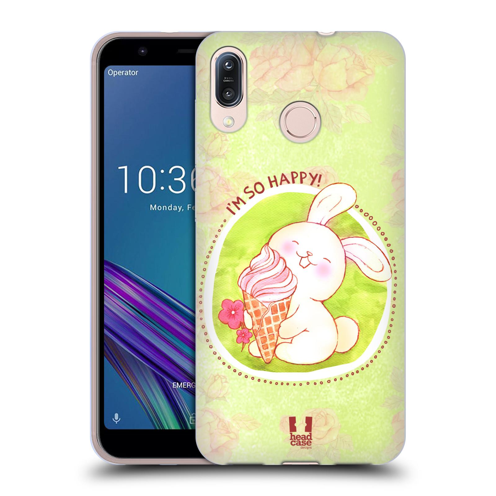 Silikonové pouzdro na mobil Asus Zenfone Max M1 ZB555KL - Head Case - KRÁLÍČEK A ZMRZKA