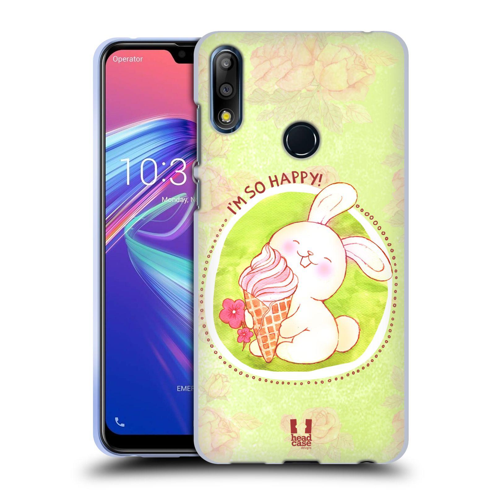 Silikonové pouzdro na mobil Asus Zenfone Max Pro M2 ZB631KL - Head Case - KRÁLÍČEK A ZMRZKA