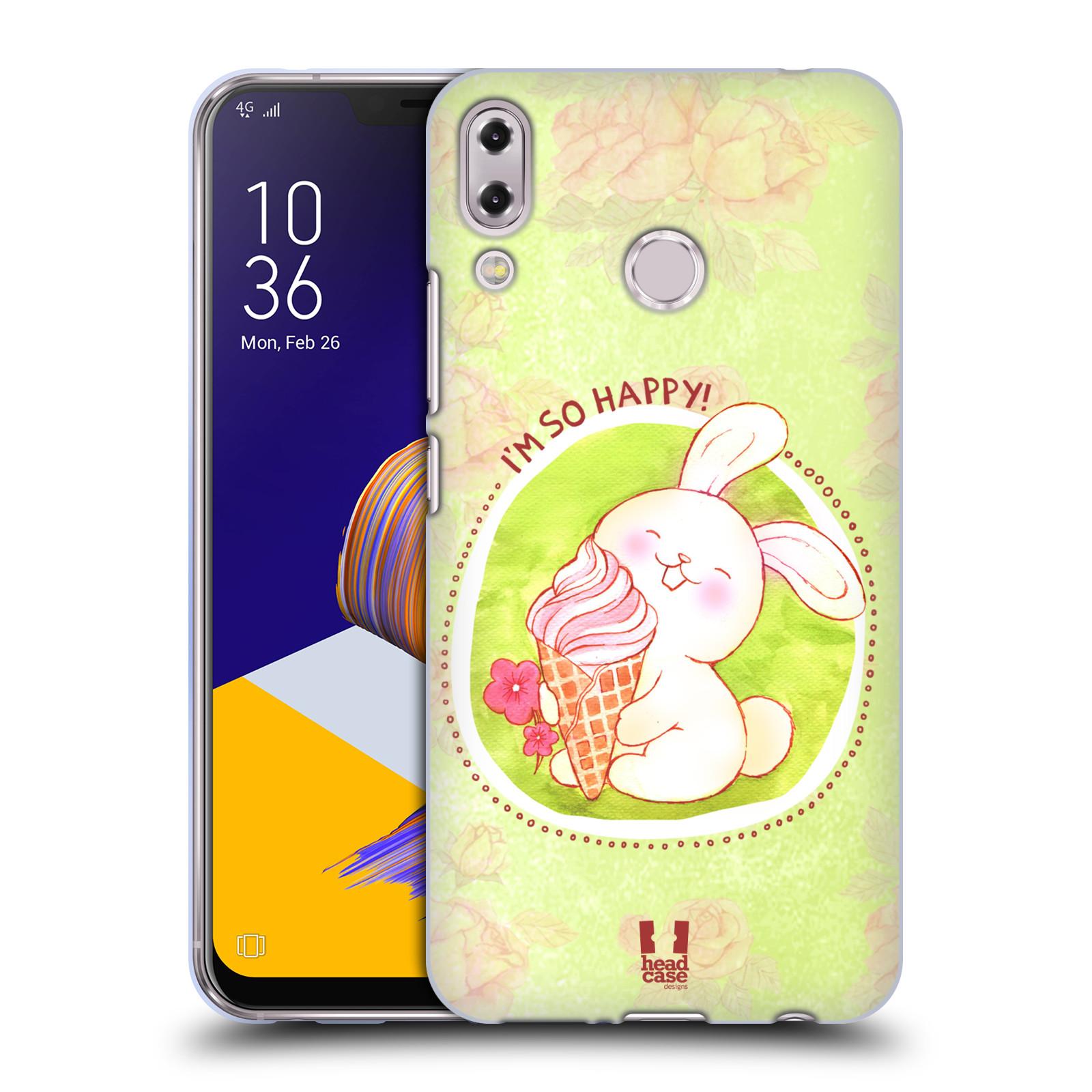Silikonové pouzdro na mobil Asus Zenfone 5z ZS620KL - Head Case - KRÁLÍČEK A ZMRZKA
