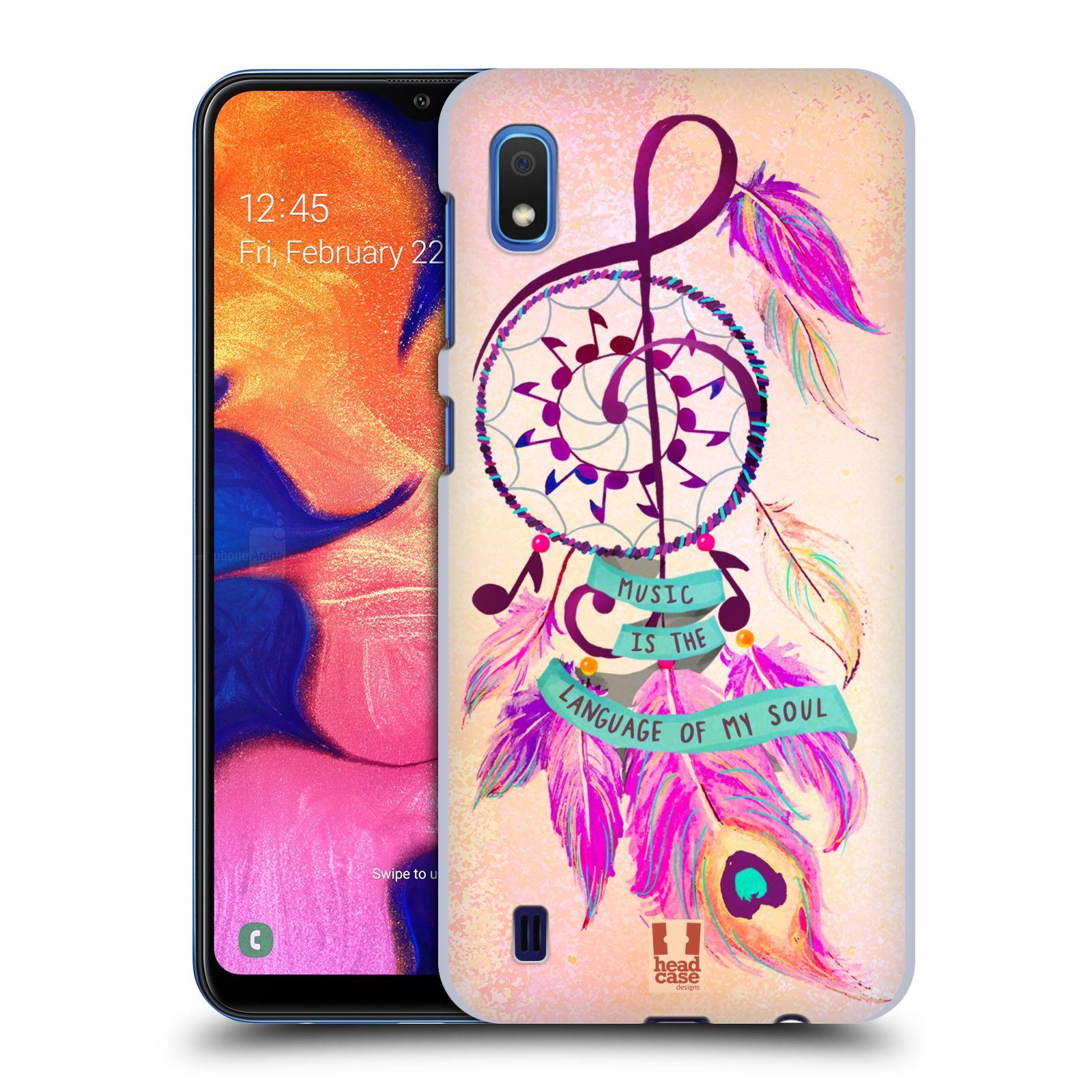 Plastové pouzdro na mobil Samsung Galaxy A10 - Head Case - Lapač Assorted Music