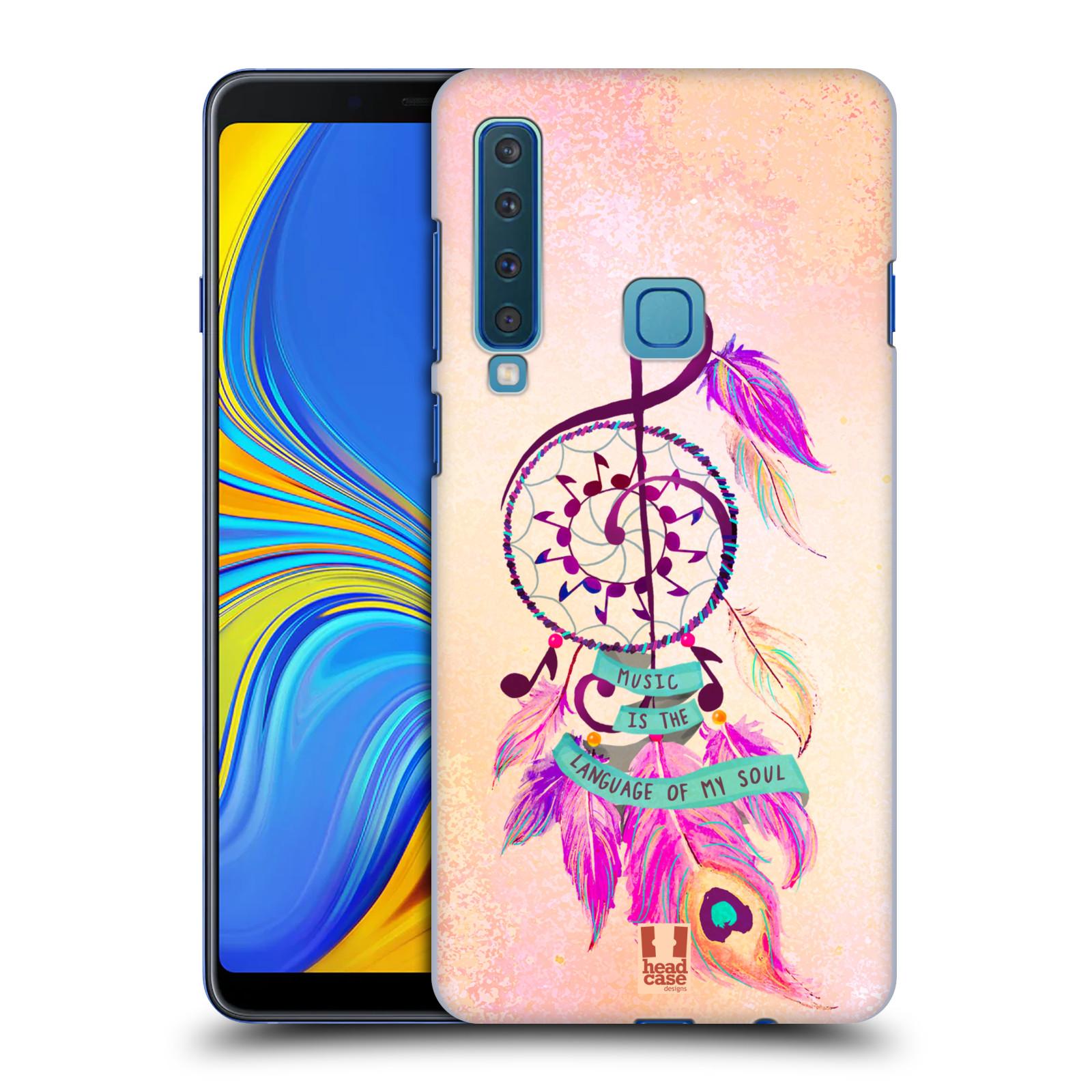 Plastové pouzdro na mobil Samsung Galaxy A9 (2018) - Head Case - Lapač Assorted Music