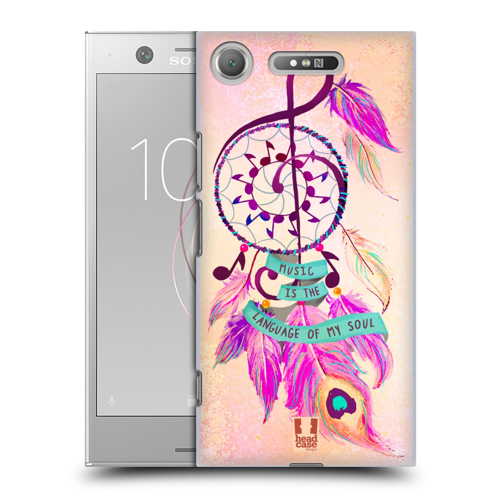 Plastové pouzdro na mobil Sony Xperia XZ1 - Head Case - Lapač Assorted Music