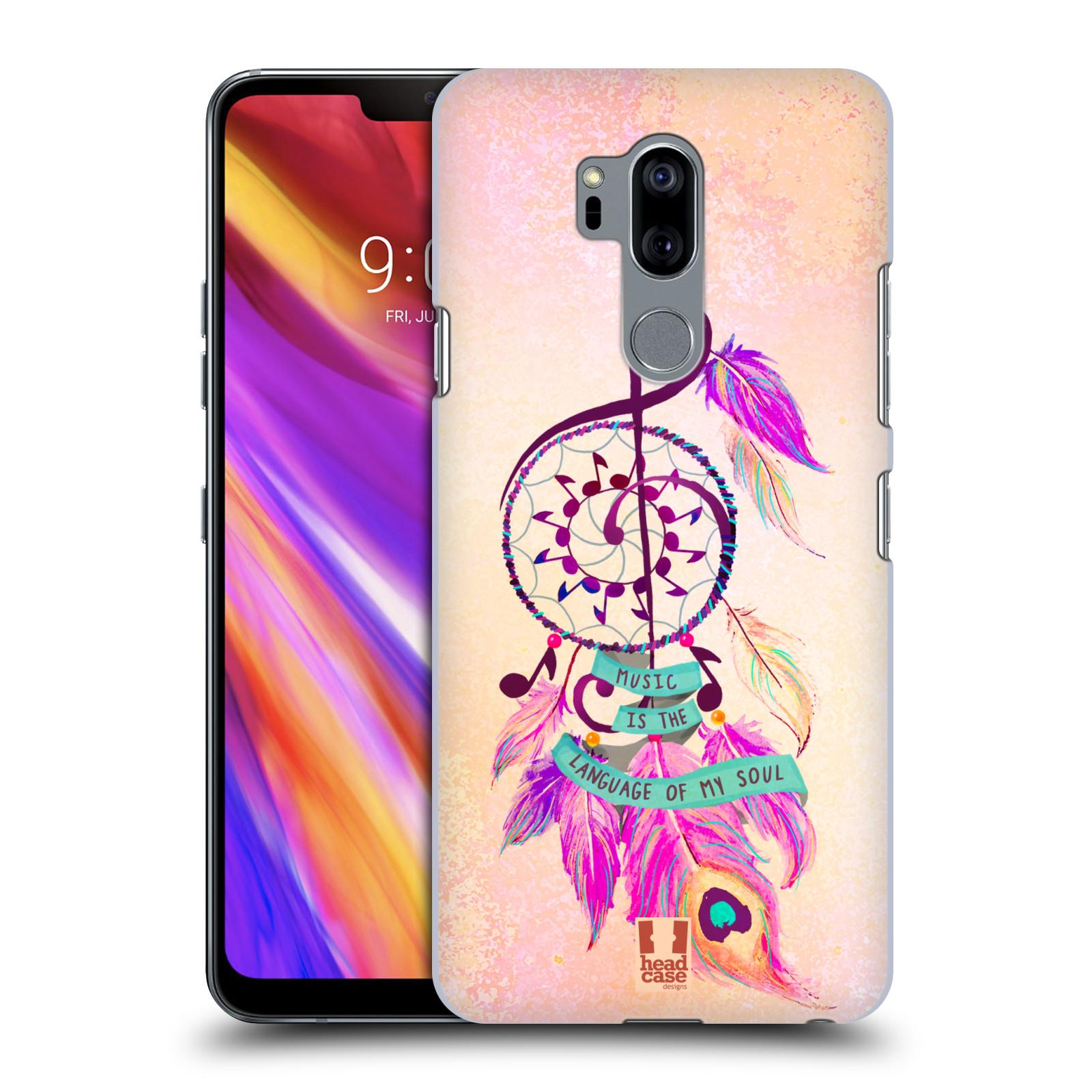 Plastové pouzdro na mobil LG G7 ThinQ - Head Case - Lapač Assorted Music