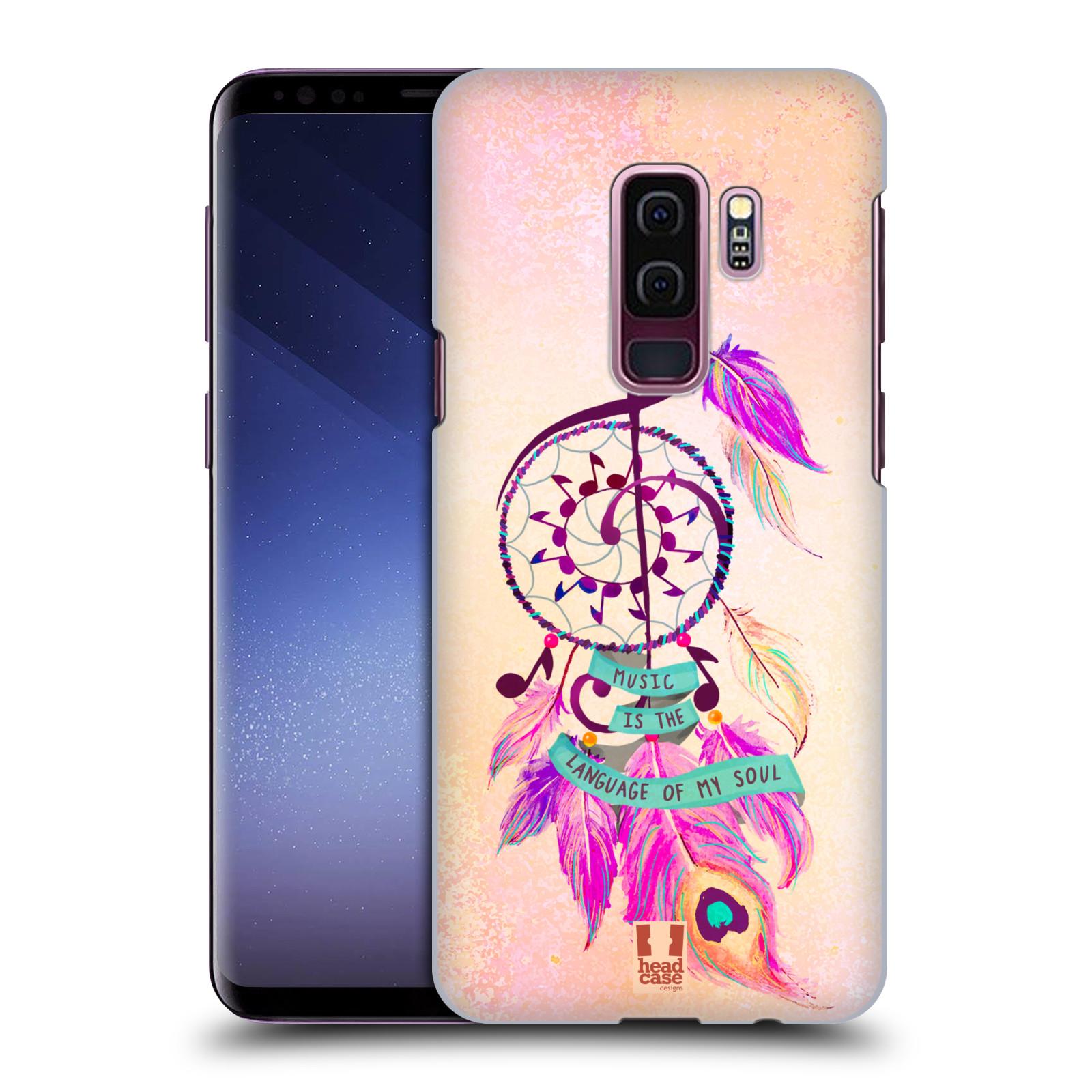 Plastové pouzdro na mobil Samsung Galaxy S9 Plus - Head Case - Lapač Assorted Music