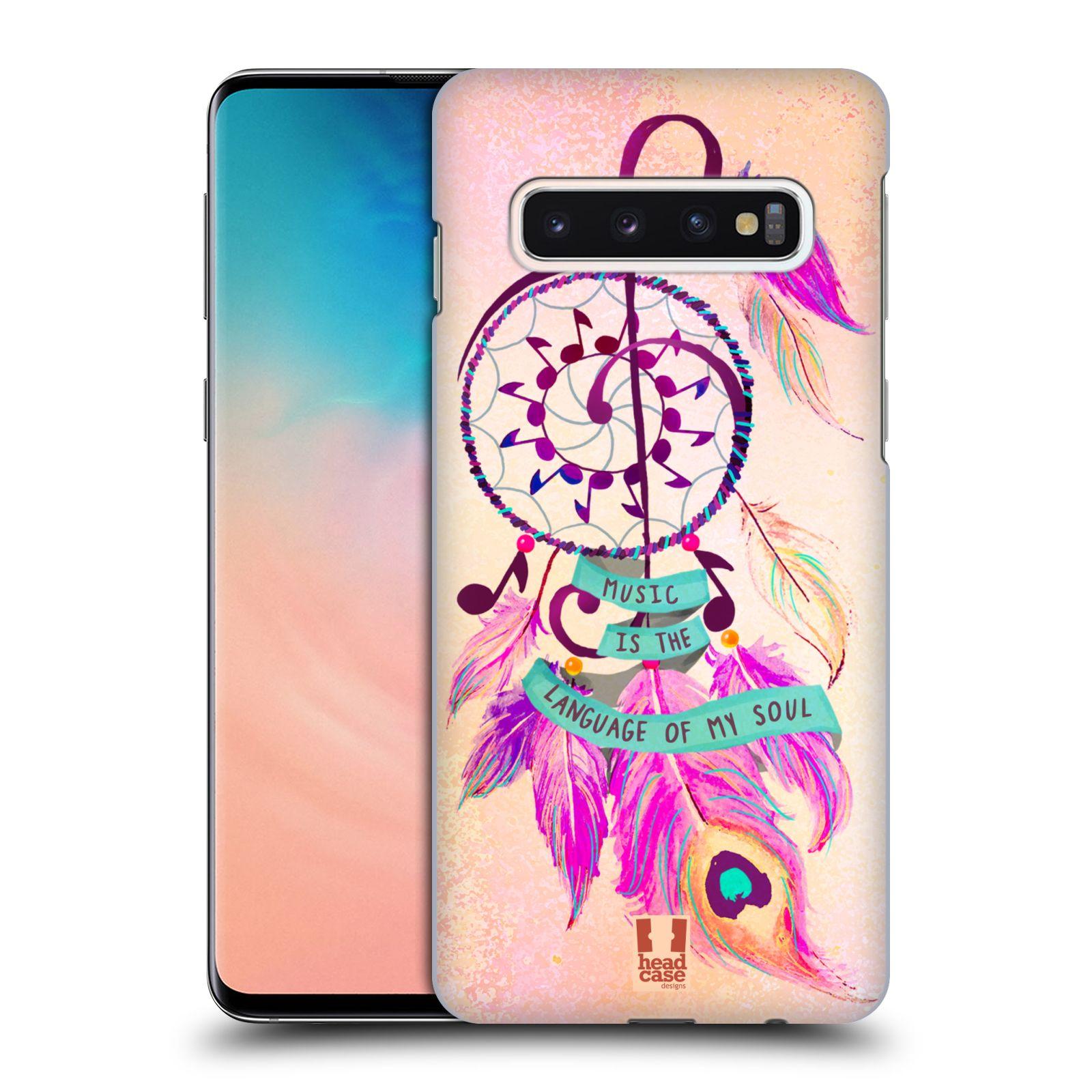 Plastové pouzdro na mobil Samsung Galaxy S10 - Head Case - Lapač Assorted Music