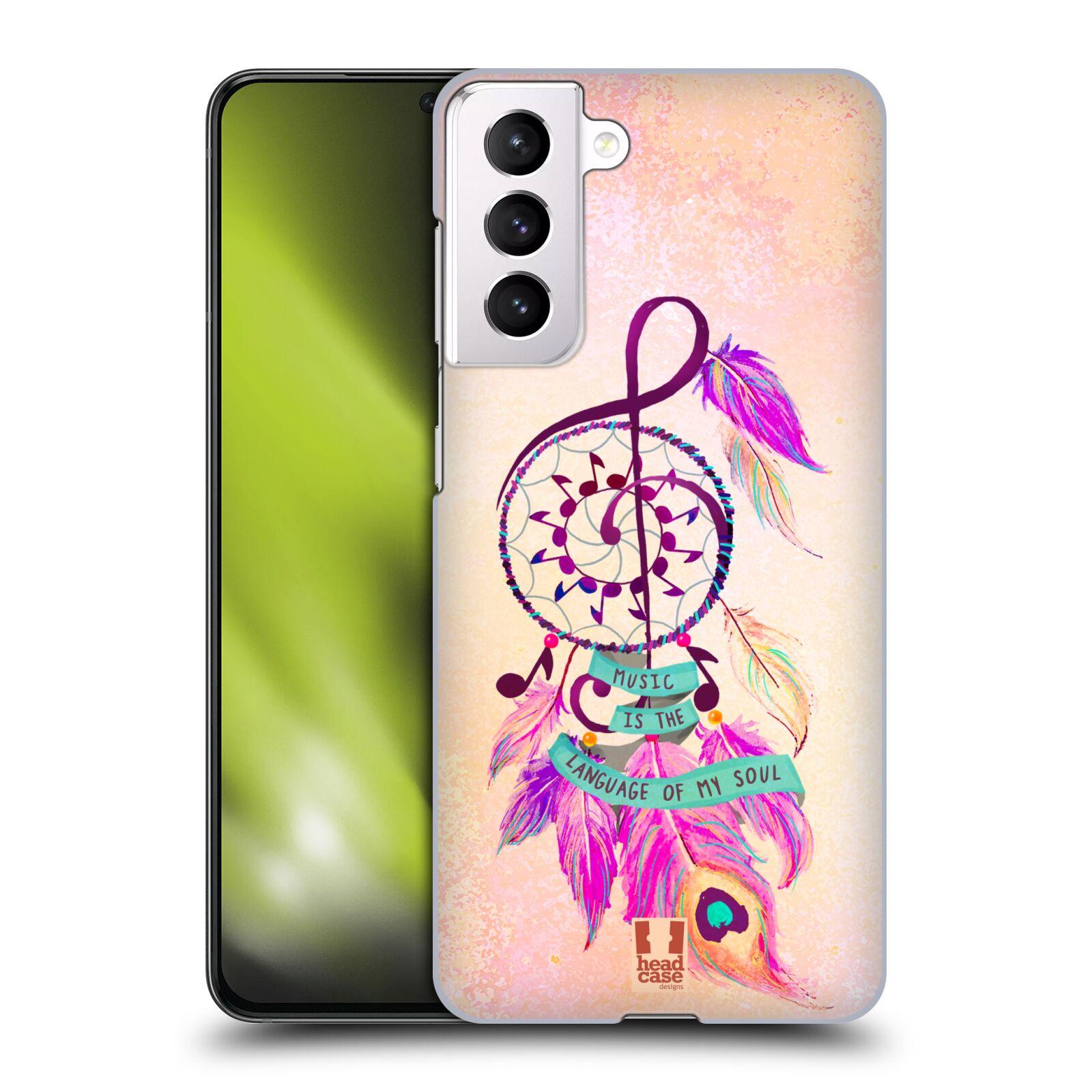 Plastové pouzdro na mobil Samsung Galaxy S21 5G - Head Case - Lapač Assorted Music