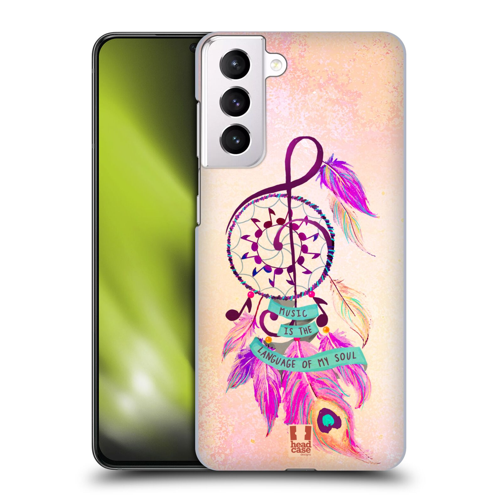 Plastové pouzdro na mobil Samsung Galaxy S21 Plus 5G - Head Case - Lapač Assorted Music