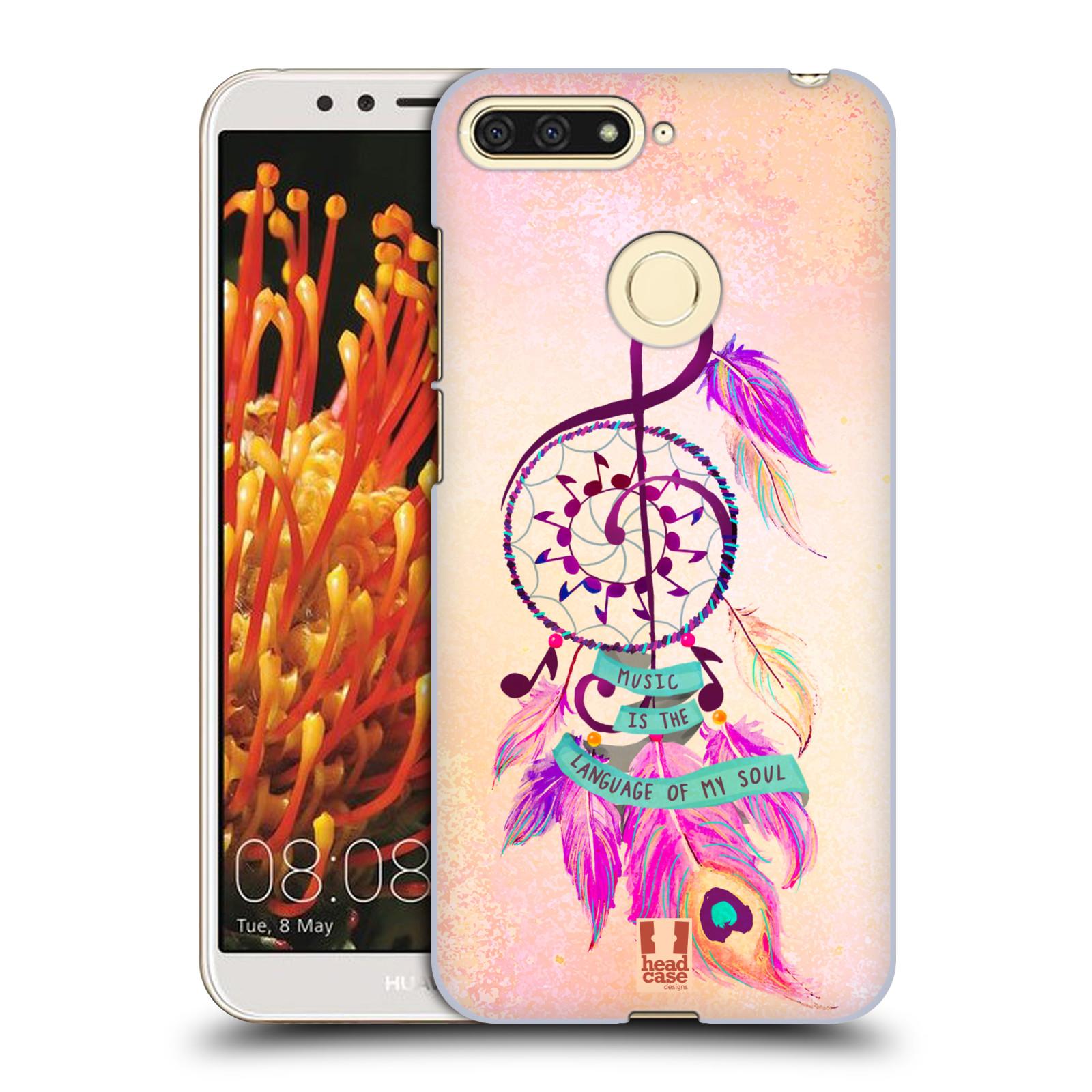 Plastové pouzdro na mobil Huawei Y6 Prime 2018 - Head Case - Lapač Assorted Music