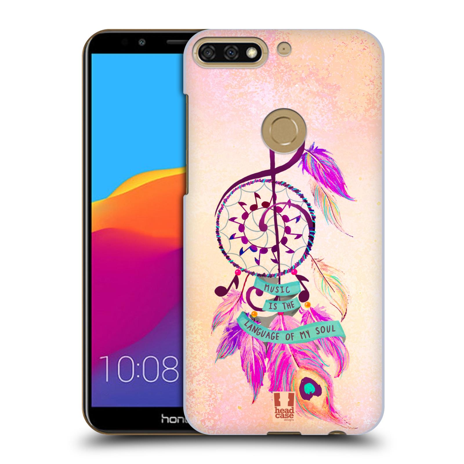 Plastové pouzdro na mobil Huawei Y7 Prime 2018 - Head Case - Lapač Assorted Music