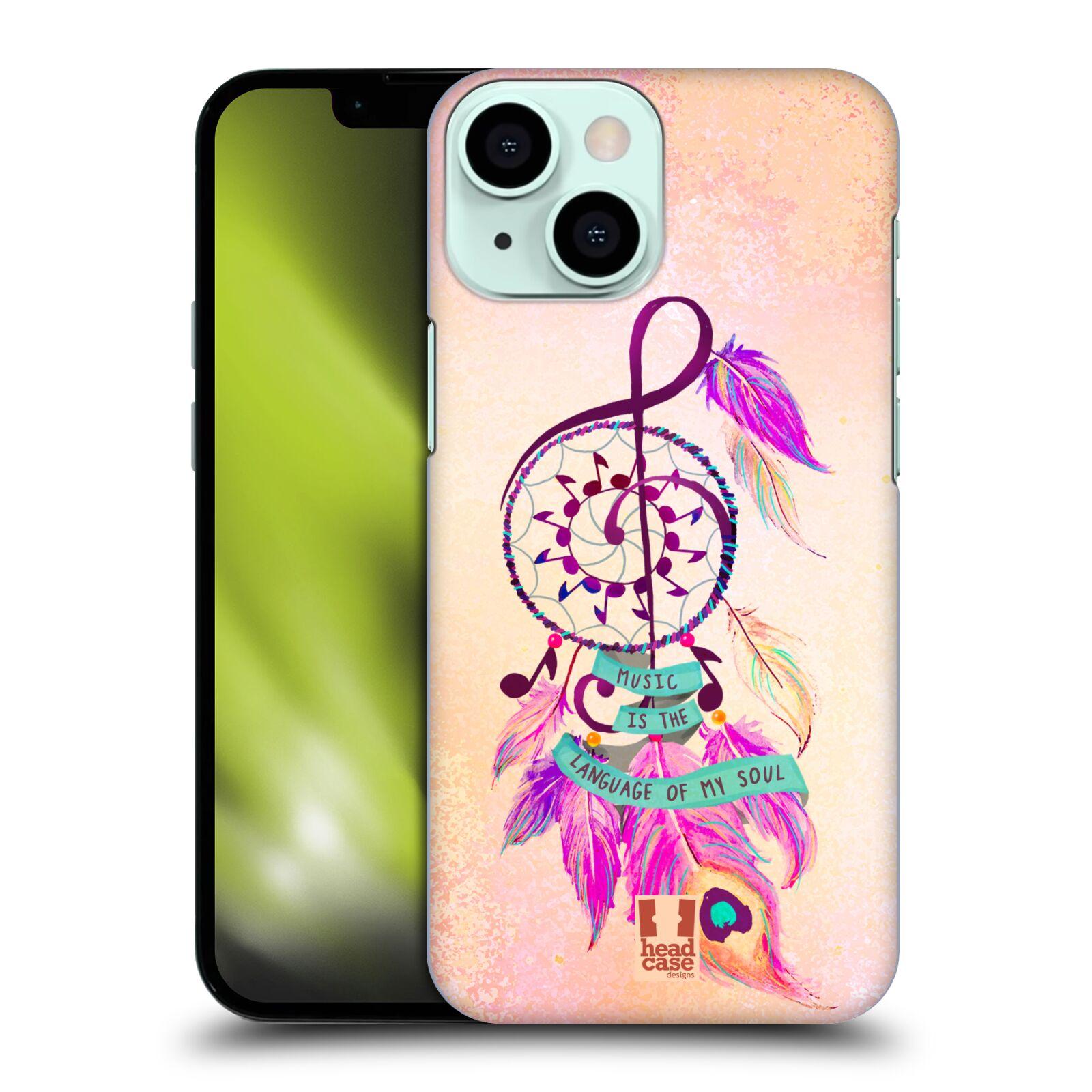 Plastové pouzdro na mobil Apple iPhone 13 Mini - Head Case - Lapač Assorted Music