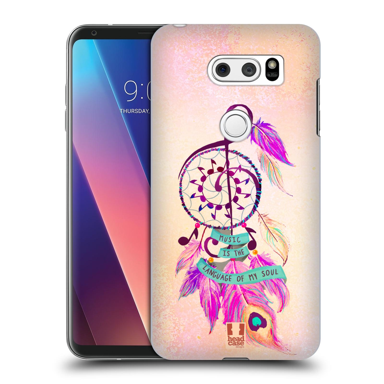 Plastové pouzdro na mobil LG V30 - Head Case - Lapač Assorted Music