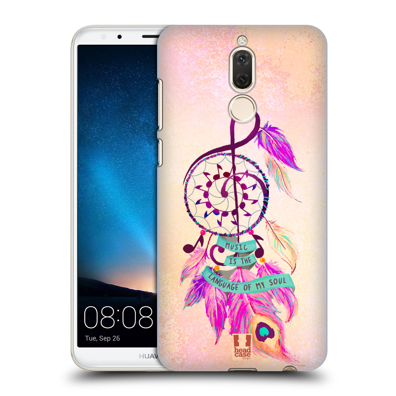 Plastové pouzdro na mobil Huawei Mate 10 Lite - Head Case - Lapač Assorted Music