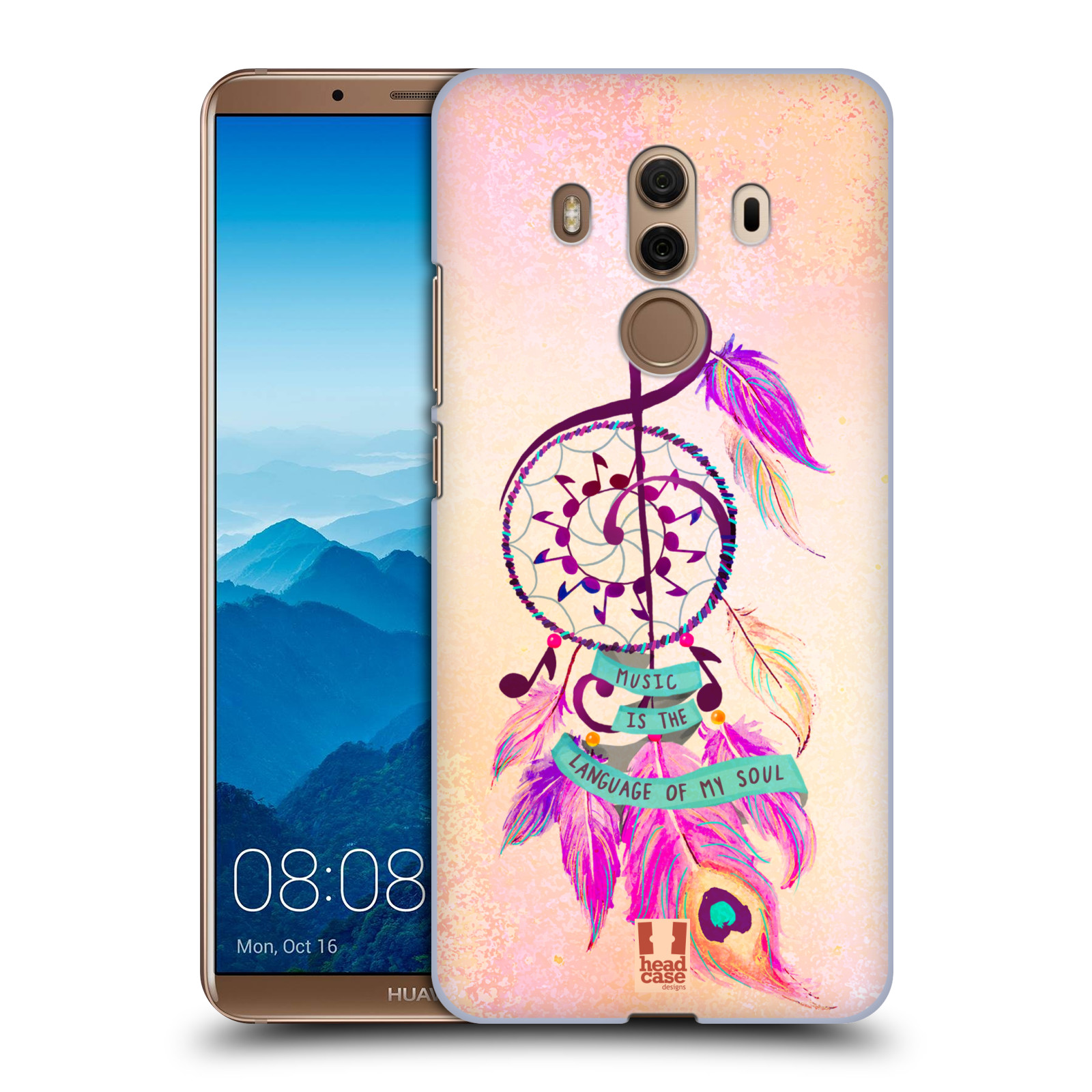 Plastové pouzdro na mobil Huawei Mate 10 Pro - Head Case - Lapač Assorted Music