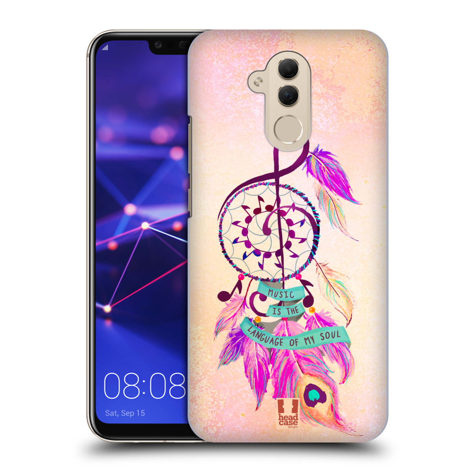 Plastové pouzdro na mobil Huawei Mate 20 Lite - Head Case - Lapač Assorted Music
