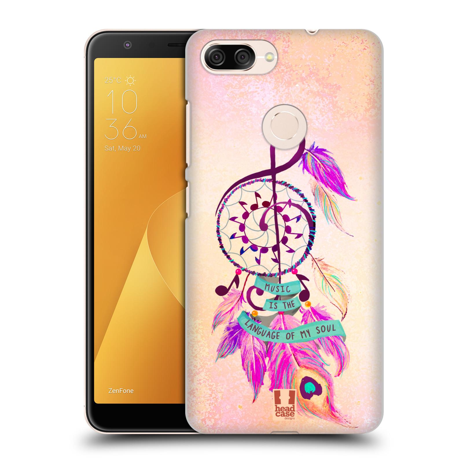 Plastové pouzdro na mobil Asus ZenFone Max Plus (M1) - Head Case - Lapač Assorted Music