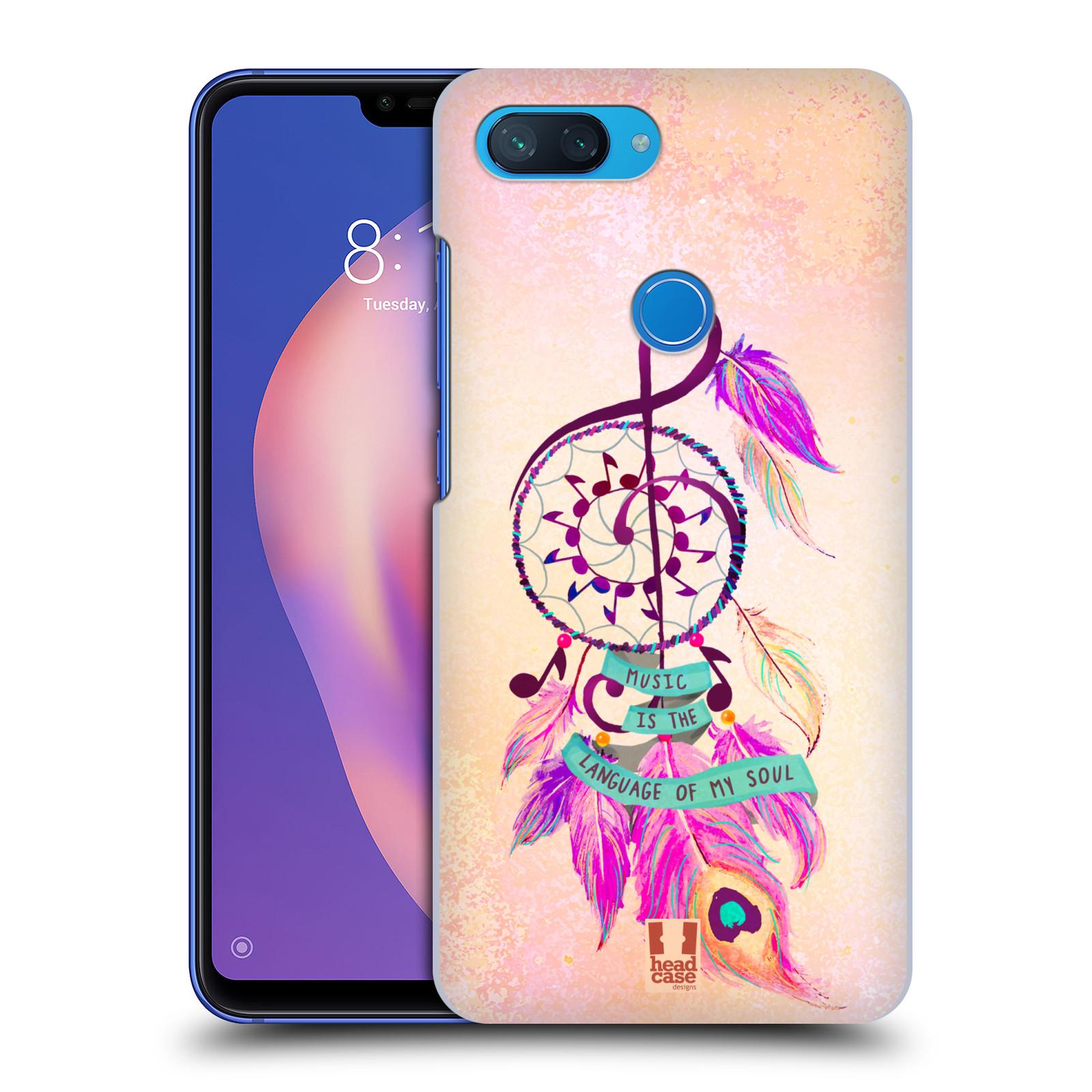 Plastové pouzdro na mobil Xiaomi Mi 8 Lite - Head Case - Lapač Assorted Music
