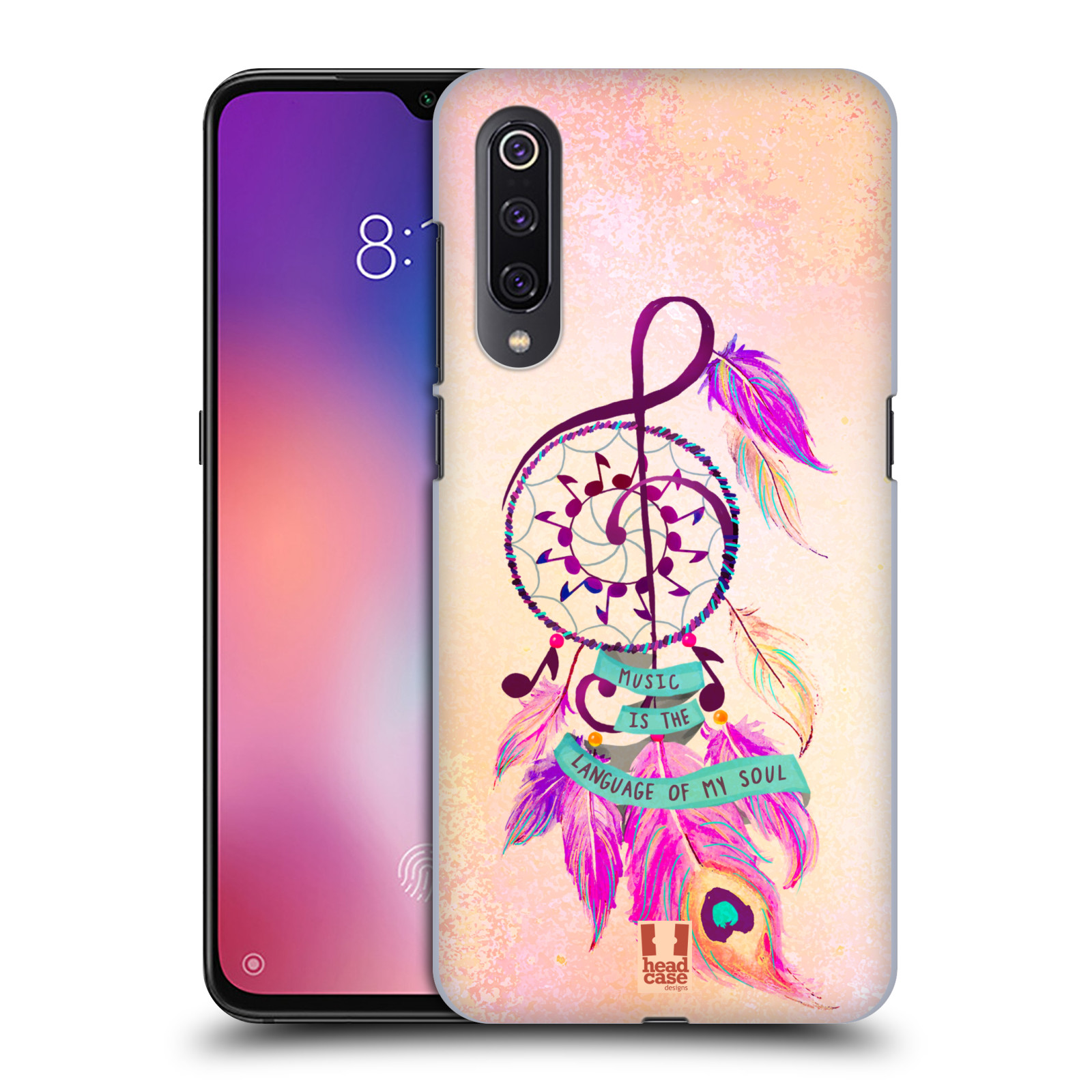 Plastové pouzdro na mobil Xiaomi Mi 9 - Head Case - Lapač Assorted Music