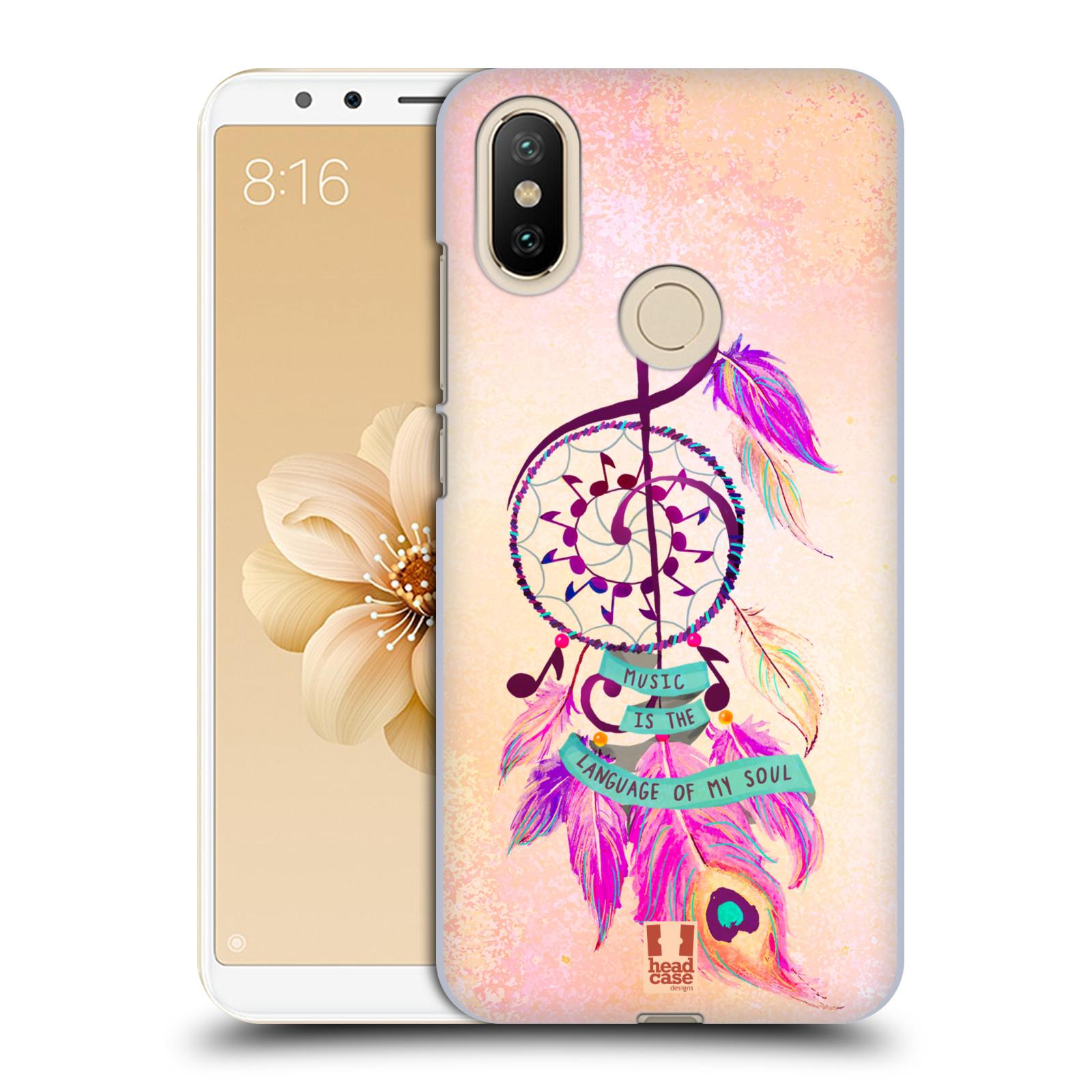 Plastové pouzdro na mobil Xiaomi Mi A2 - Head Case - Lapač Assorted Music