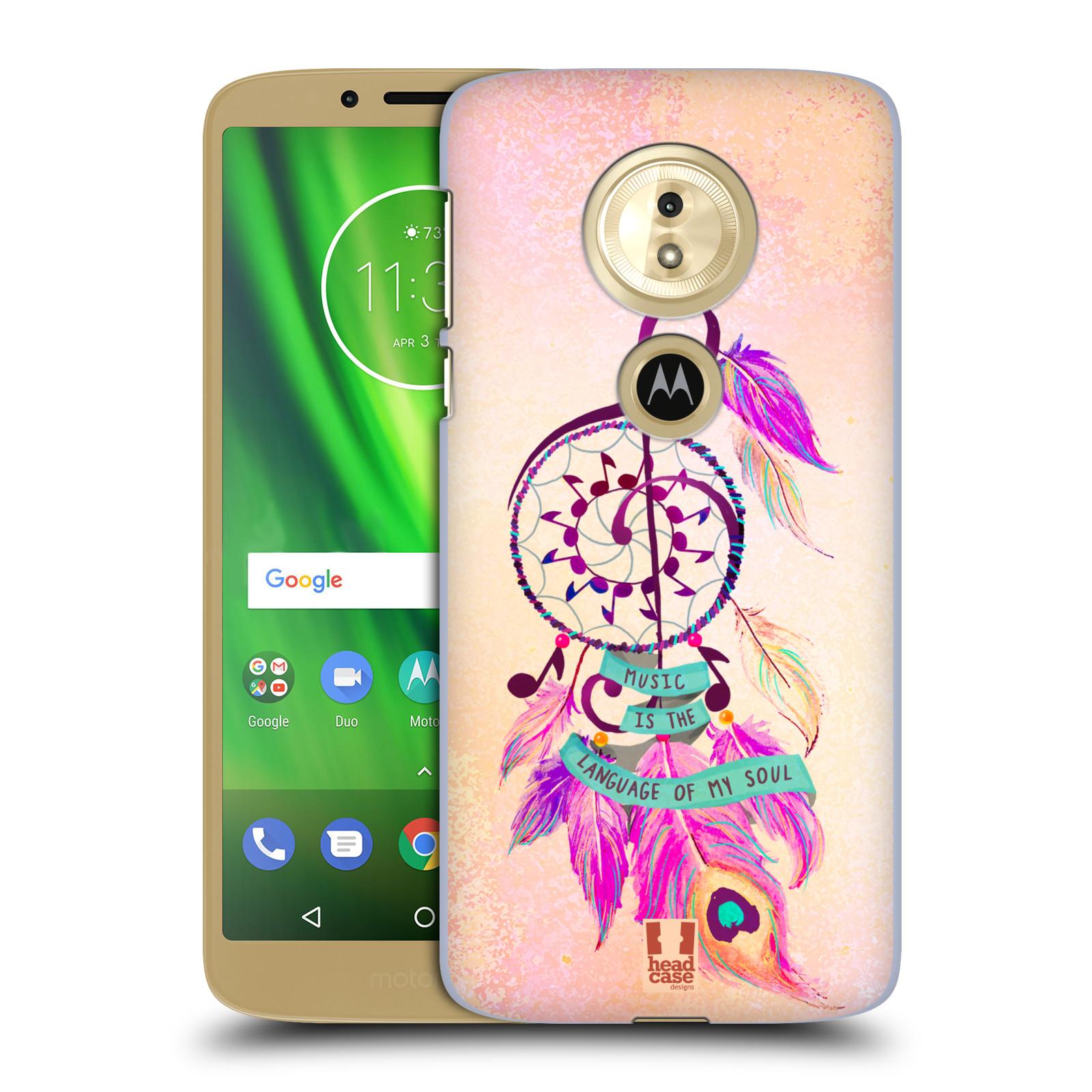 Plastové pouzdro na mobil Motorola Moto G6 Play - Head Case - Lapač Assorted Music