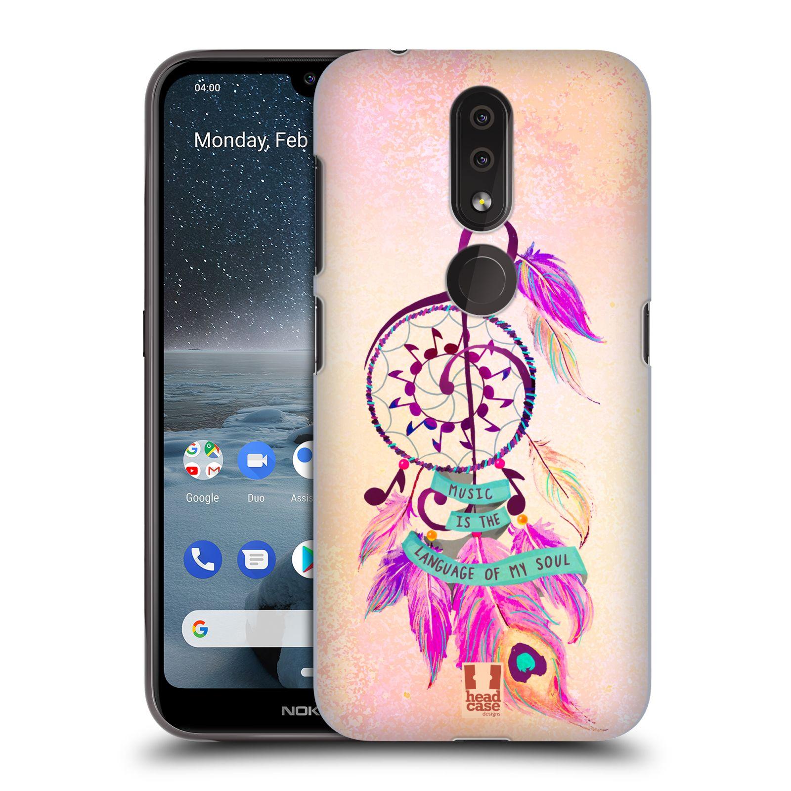 Plastové pouzdro na mobil Nokia 4.2 - Head Case - Lapač Assorted Music